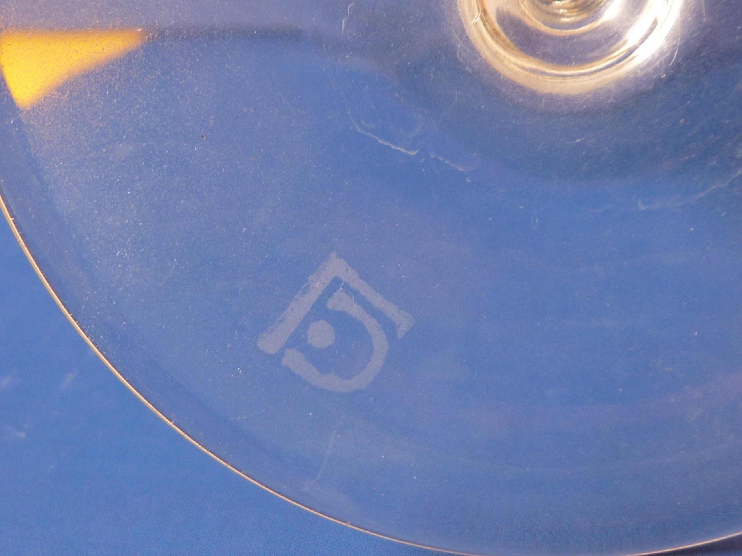 """Ongespecificeerd - Leerdam wijnglas """"Romanda"""" A.D. Copier1924 kopen? Bied vanaf 25!"""