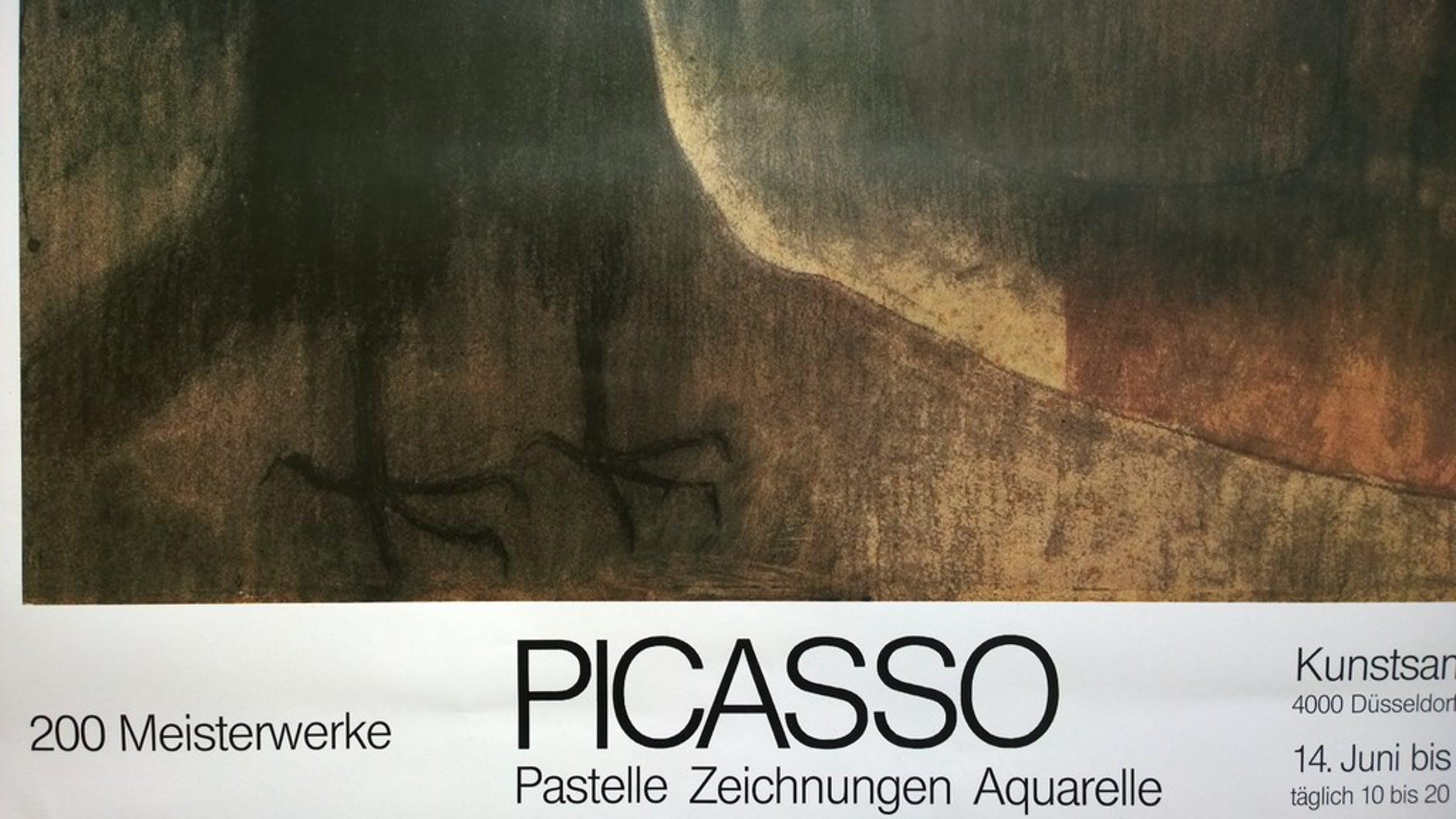 Picasso - tentoonstellingsprint,  Woman with crow kopen? Bied vanaf 1!