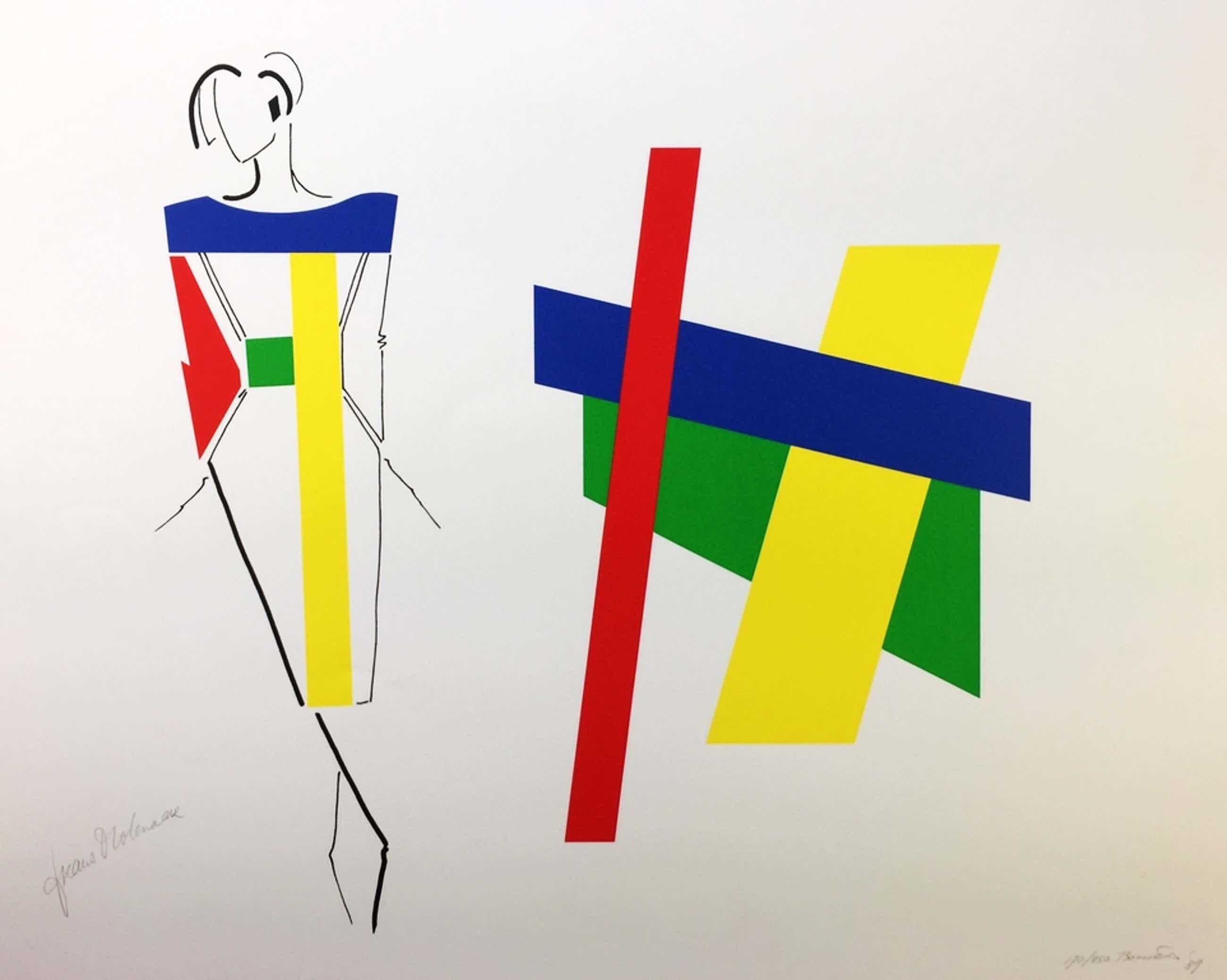 Bob Bonies & Frans Molenaar, zeefdruk, 1989 kopen? Bied vanaf 99!