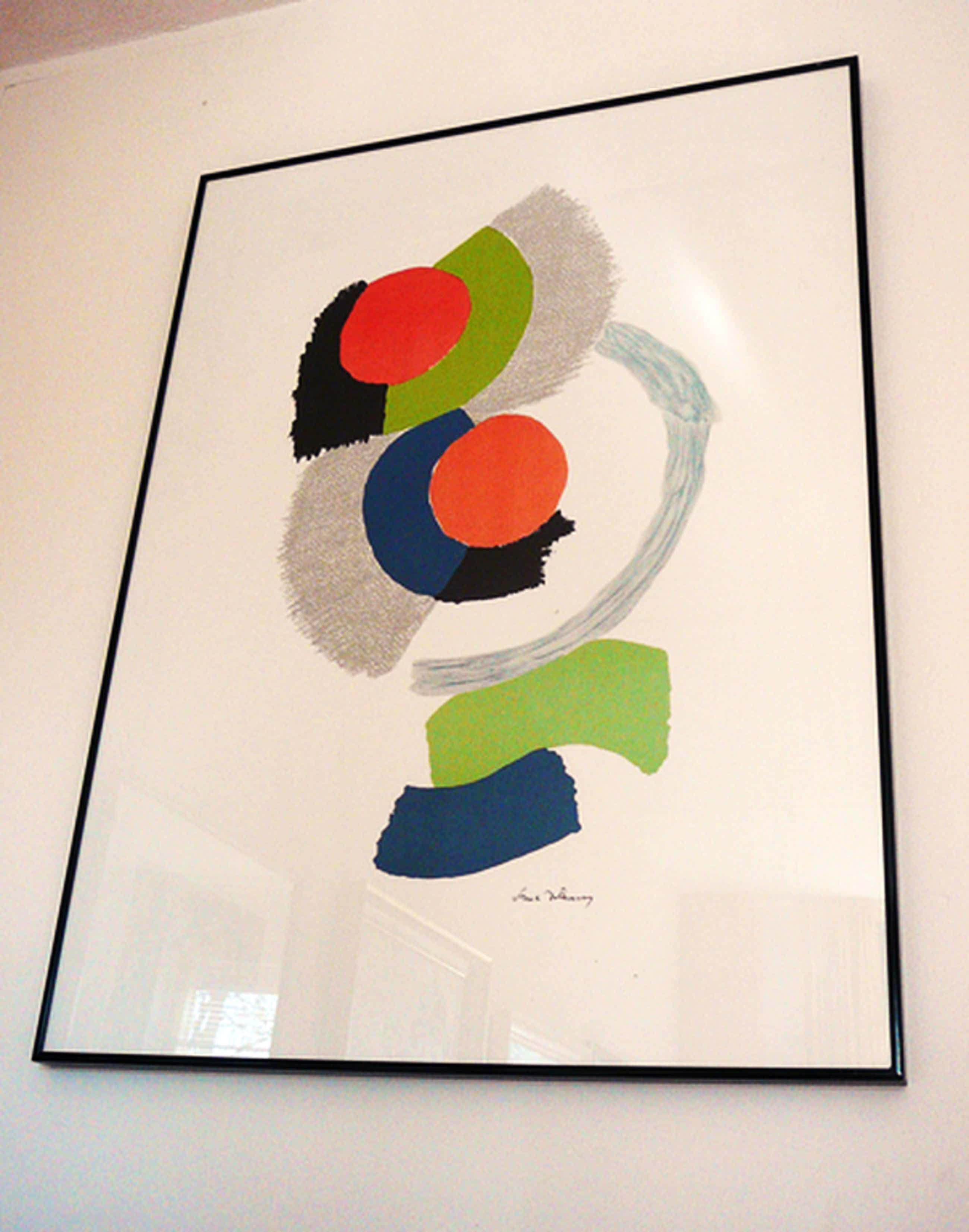Sonia Delaunay: Coccinelle 1974 -offsetlithografie-  kopen? Bied vanaf 110!