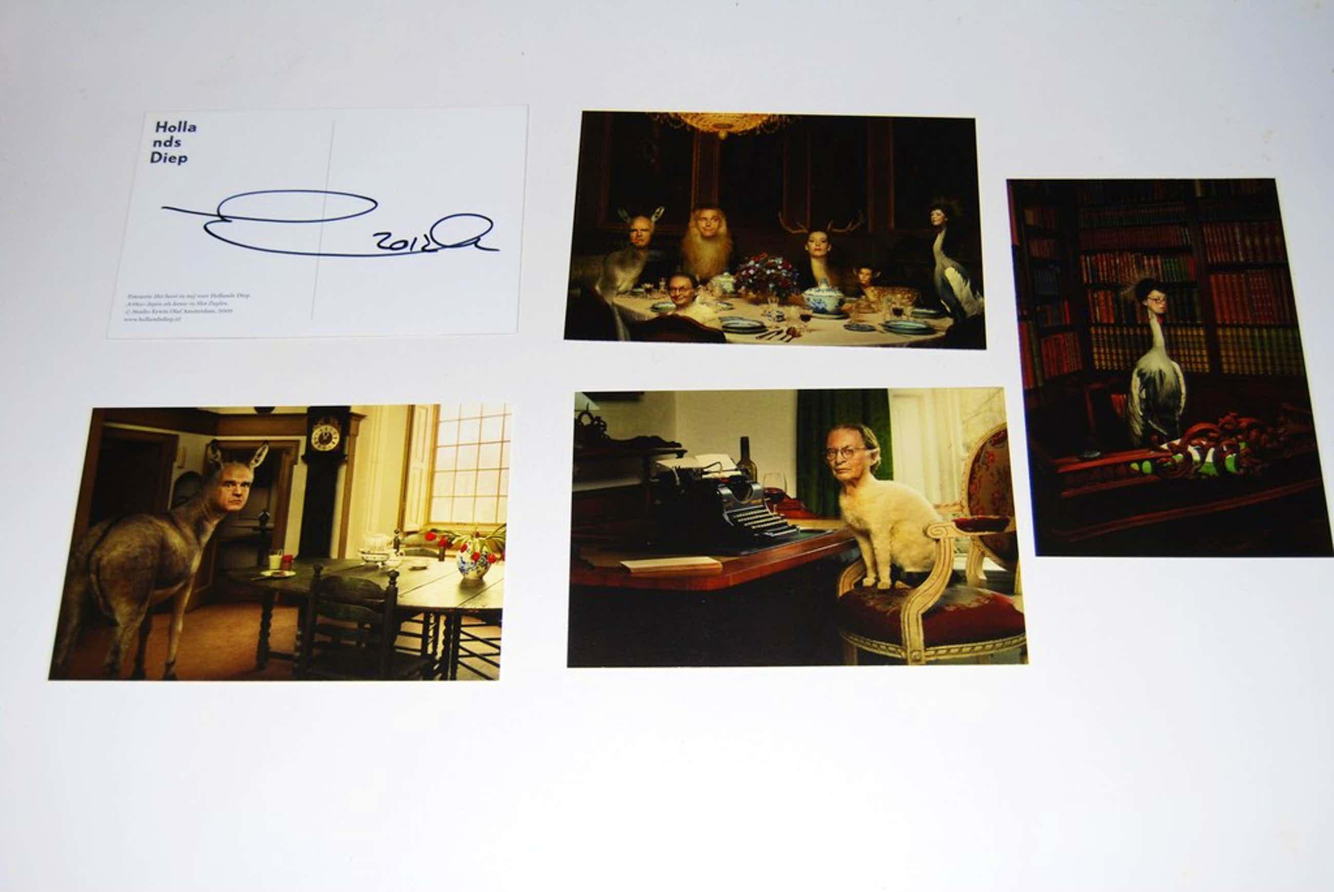 Erwin Olaf, Het beest in mij, 6 afdrukken, 1 gesign, 2009 kopen? Bied vanaf 50!