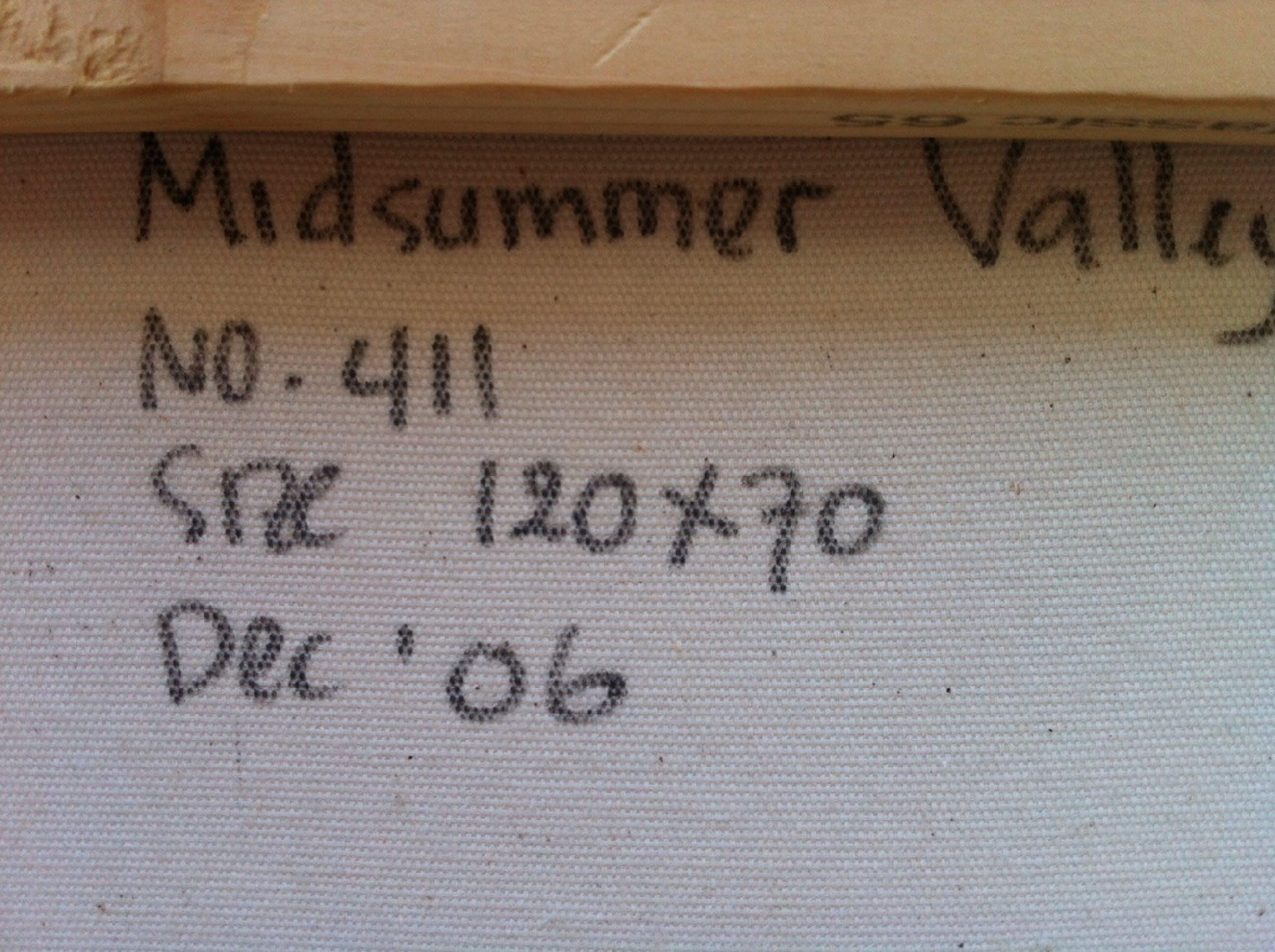 Midsummer Valley 130 cm x 80 cm met lijst kopen? Bied vanaf 250!