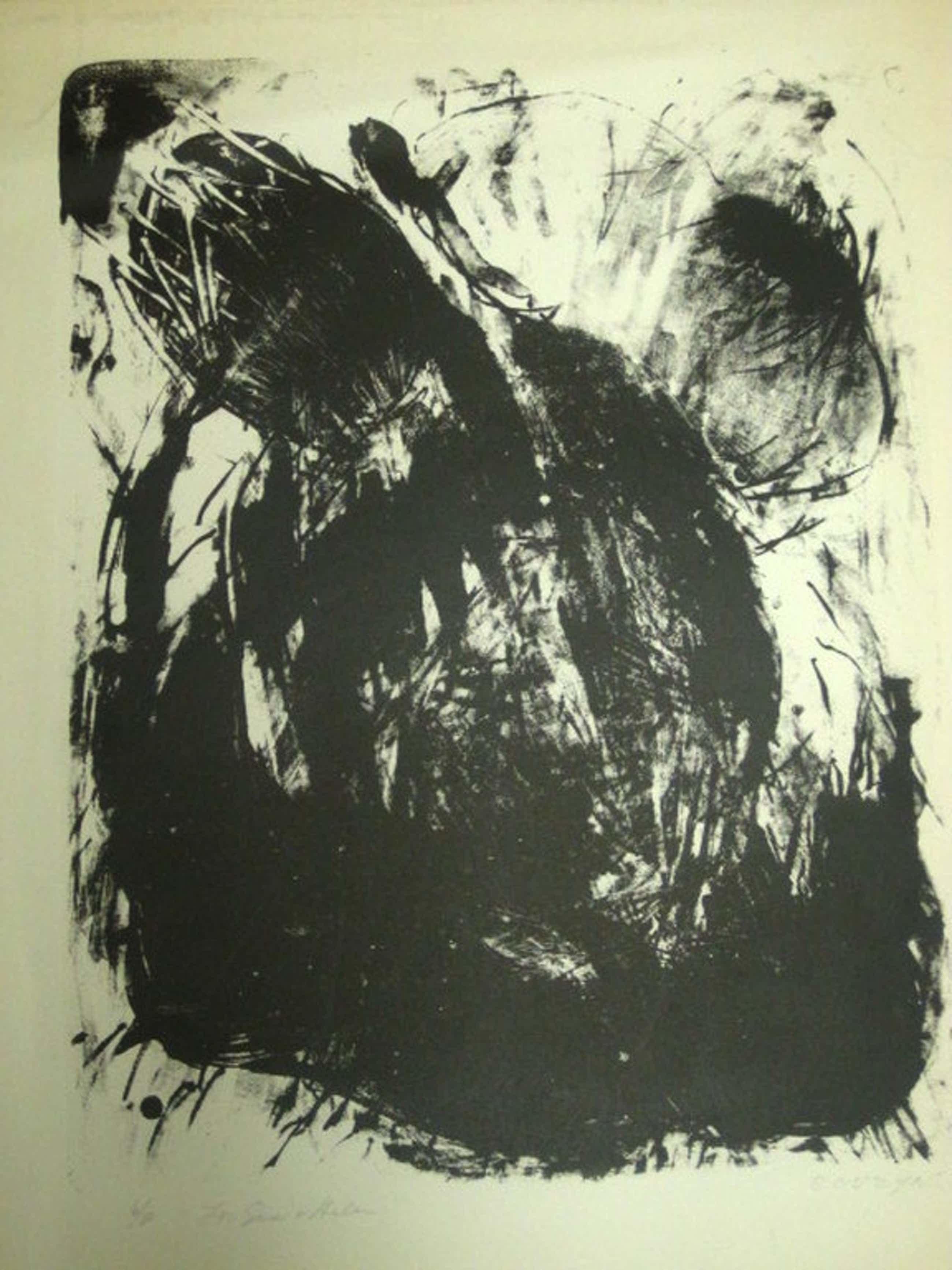 Wessel Couzijn 1912-1984 - grote Litho 6 van 90 - potloodgesigneerd ca. 1950 kopen? Bied vanaf 73!