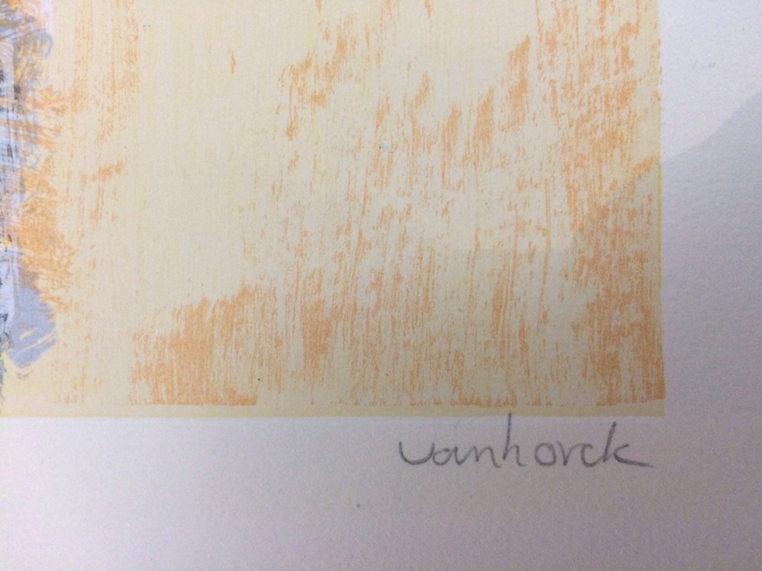 Hans Vanhorck, zeefdruk op papier kopen? Bied vanaf 30!