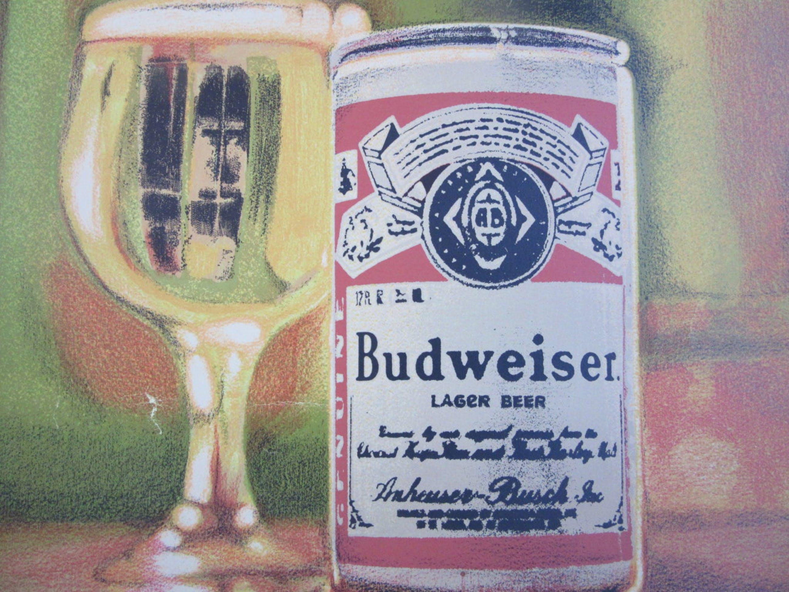 Litho 57/60 - Budweiser, lager Beer kopen? Bied vanaf 19!