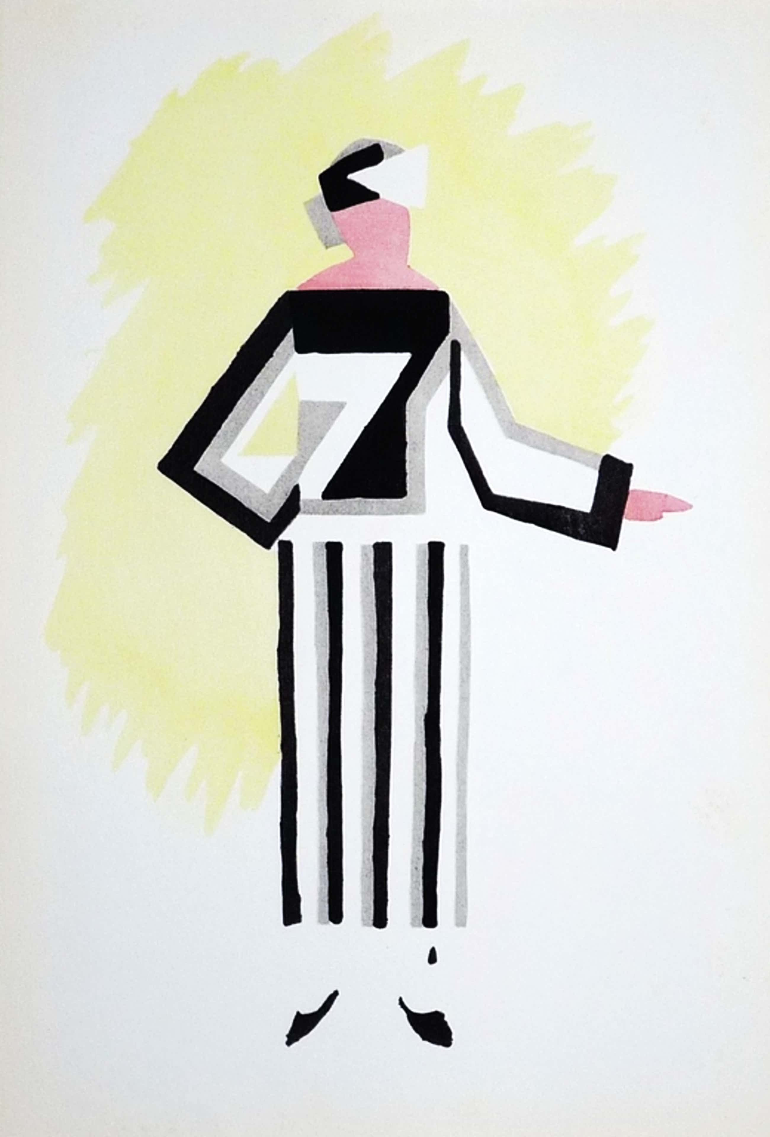 Sonia Delaunay, Pochoir uit Tableaux Vivants kopen? Bied vanaf 65!