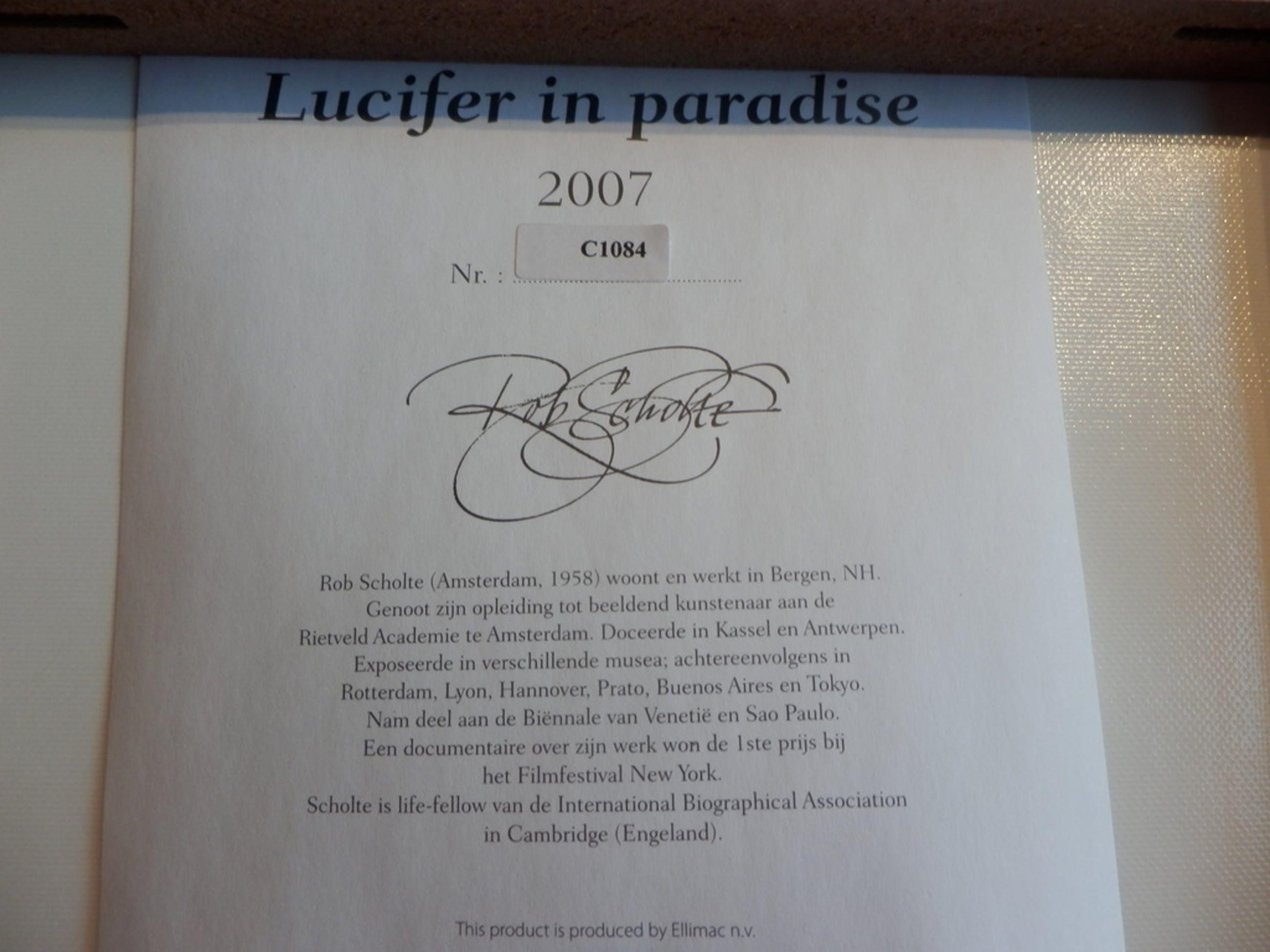 ROB SCHOLTE  Multiple  LUCIFER IN PARADISE  uit 2007  C1084 kopen? Bied vanaf 15!