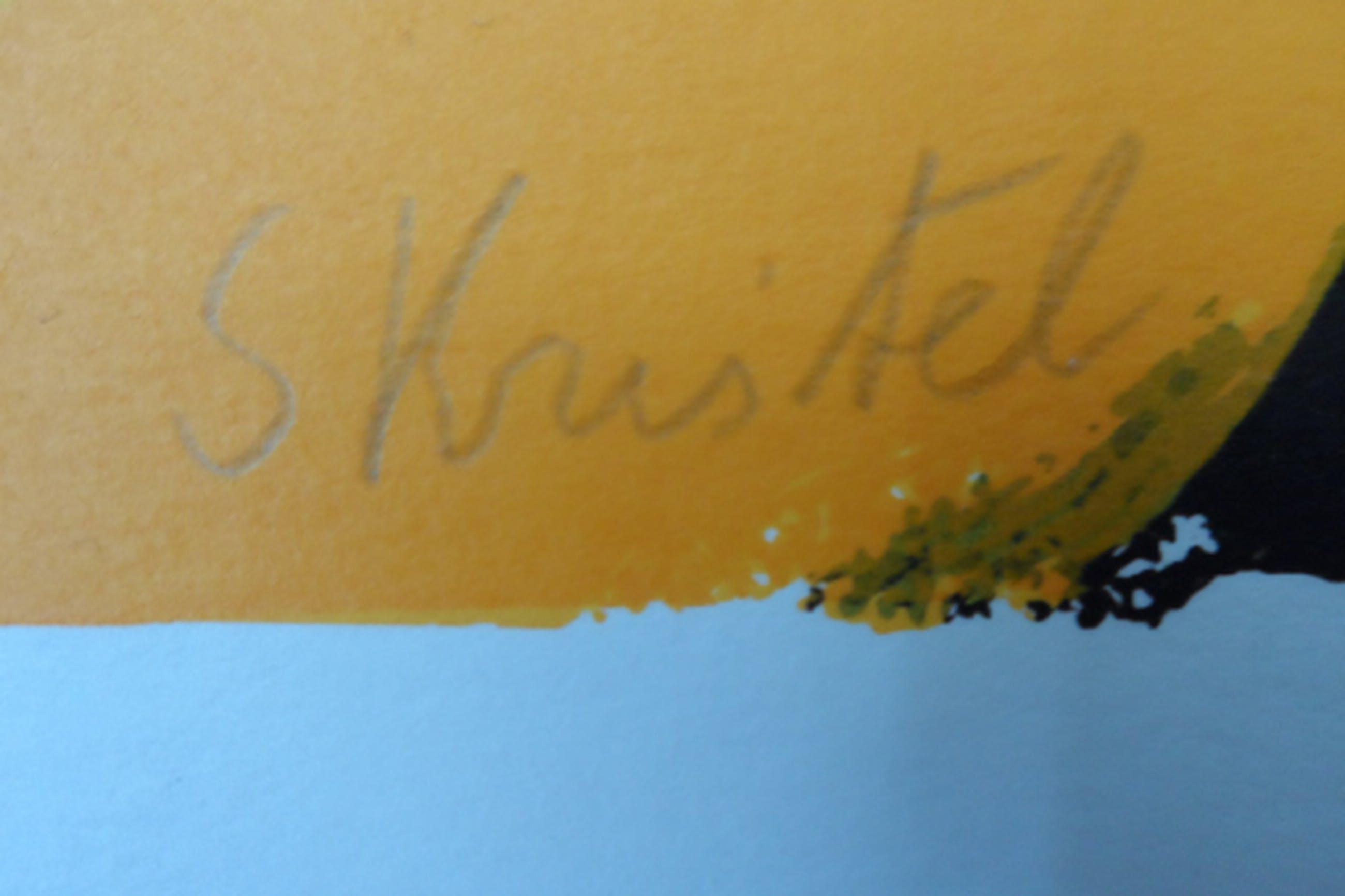 Sylvia Kristel - Zeefdruk handgesigneerd 199 / 250 -  kopen? Bied vanaf 45!