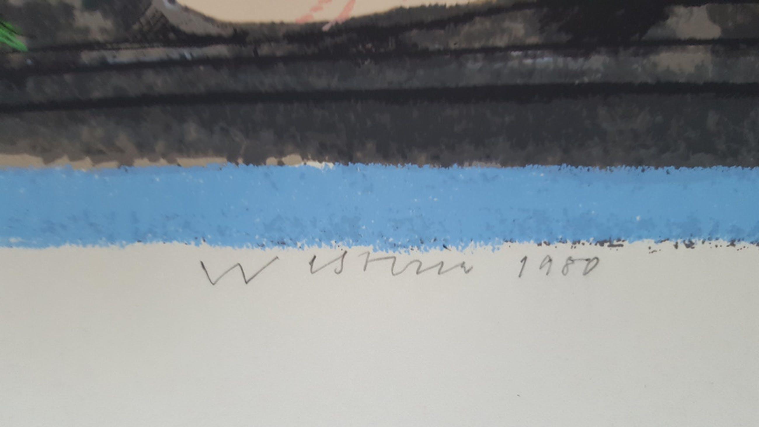 Co Westerik (1924) - litho 53/125, gesigneerd en 1980 kopen? Bied vanaf 150!