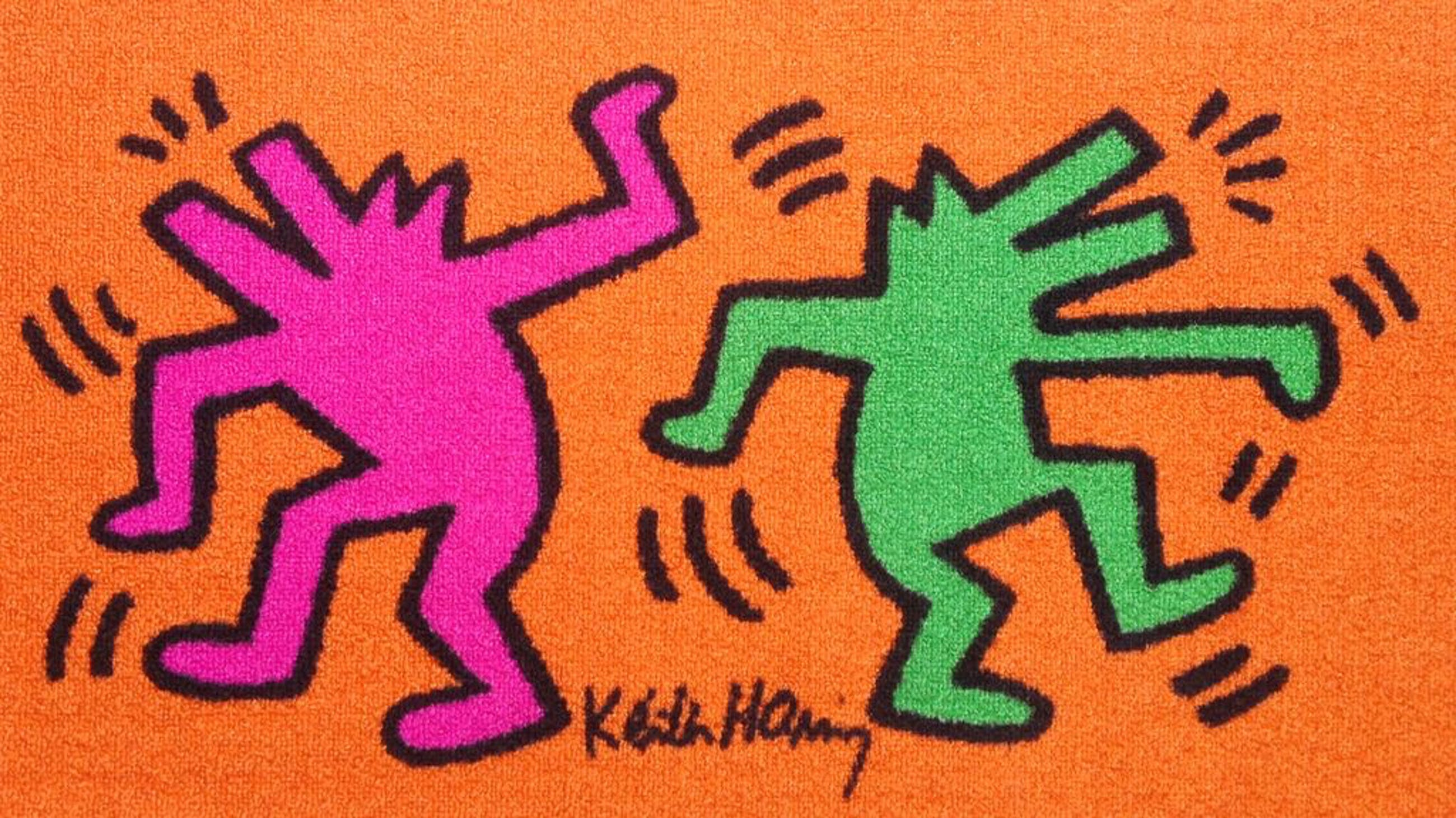 Keith Haring - Origineel Carpet kopen? Bied vanaf 39!
