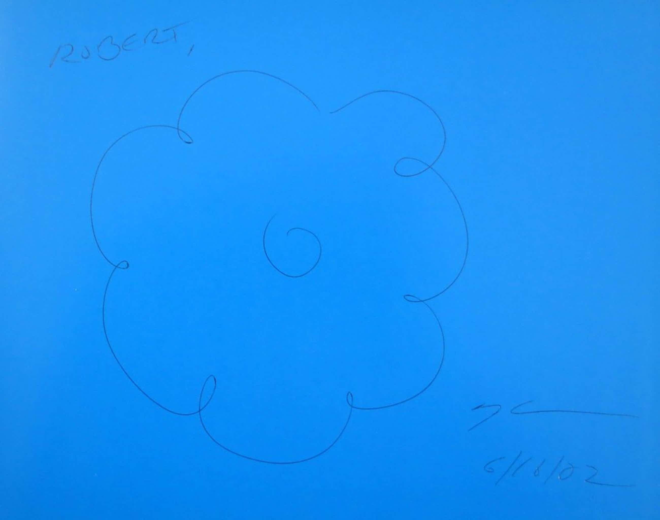 Jeff Koons: Originele pentekening op voorblad van catalogus Easyfun-Ethereal  kopen? Bied vanaf 250!