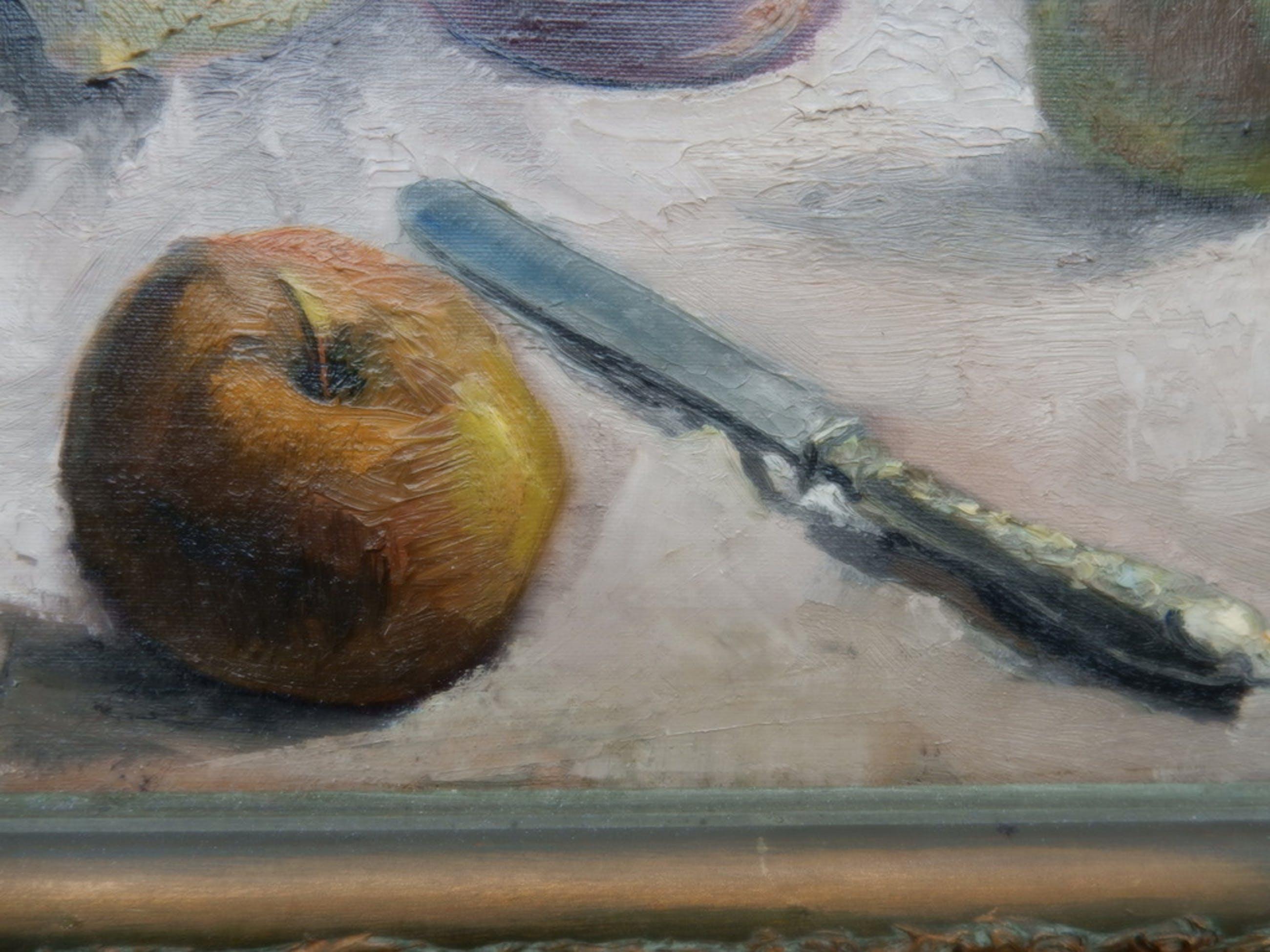 onbekende kunstschilder, stilleven, prachtig geschilderd, impressionistisch. kopen? Bied vanaf 75!