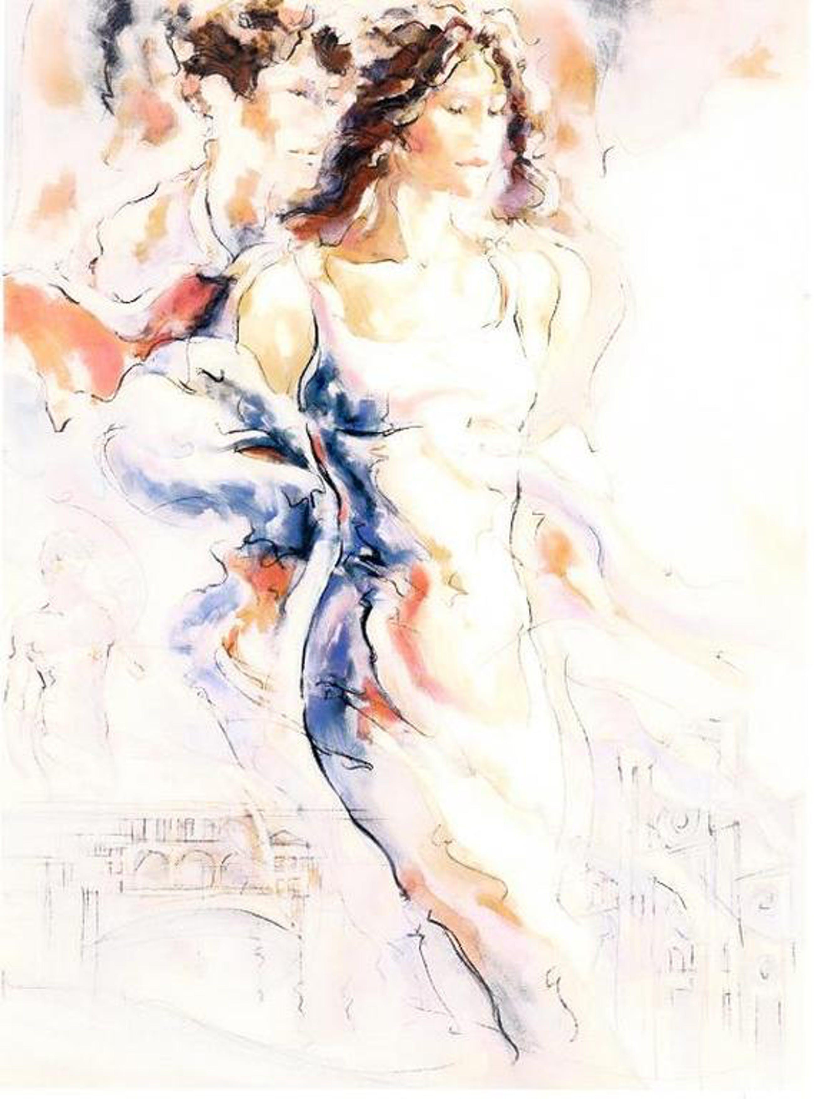 Peter Nixon, kleurenlitho Memories of Florance 1 24 bij 17,8 cm, uit het jaar 2011 kopen? Bied vanaf 60!