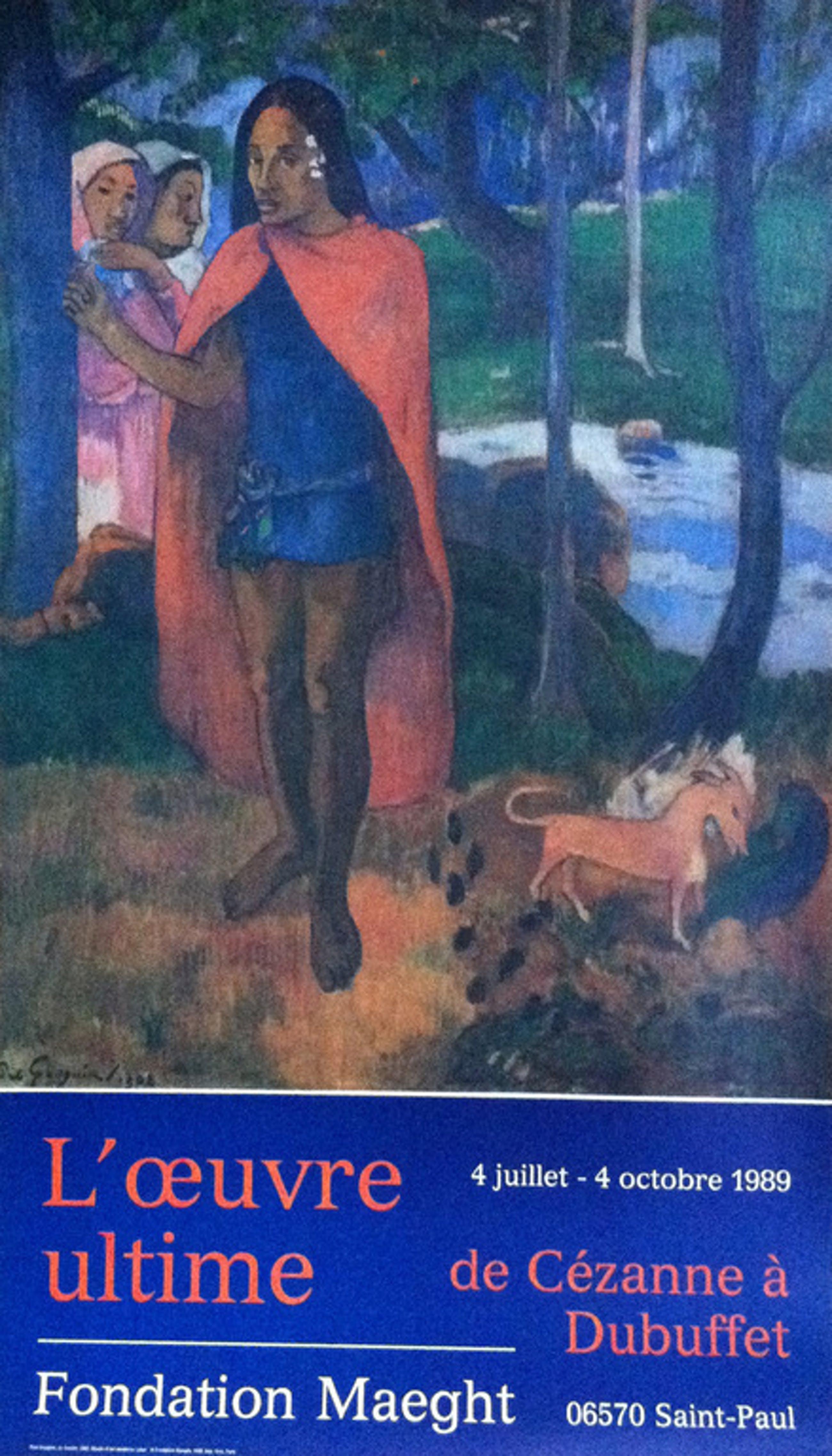 Paul Gaugain: affiche in vierkleurendruk uit 1989 kopen? Bied vanaf 1!