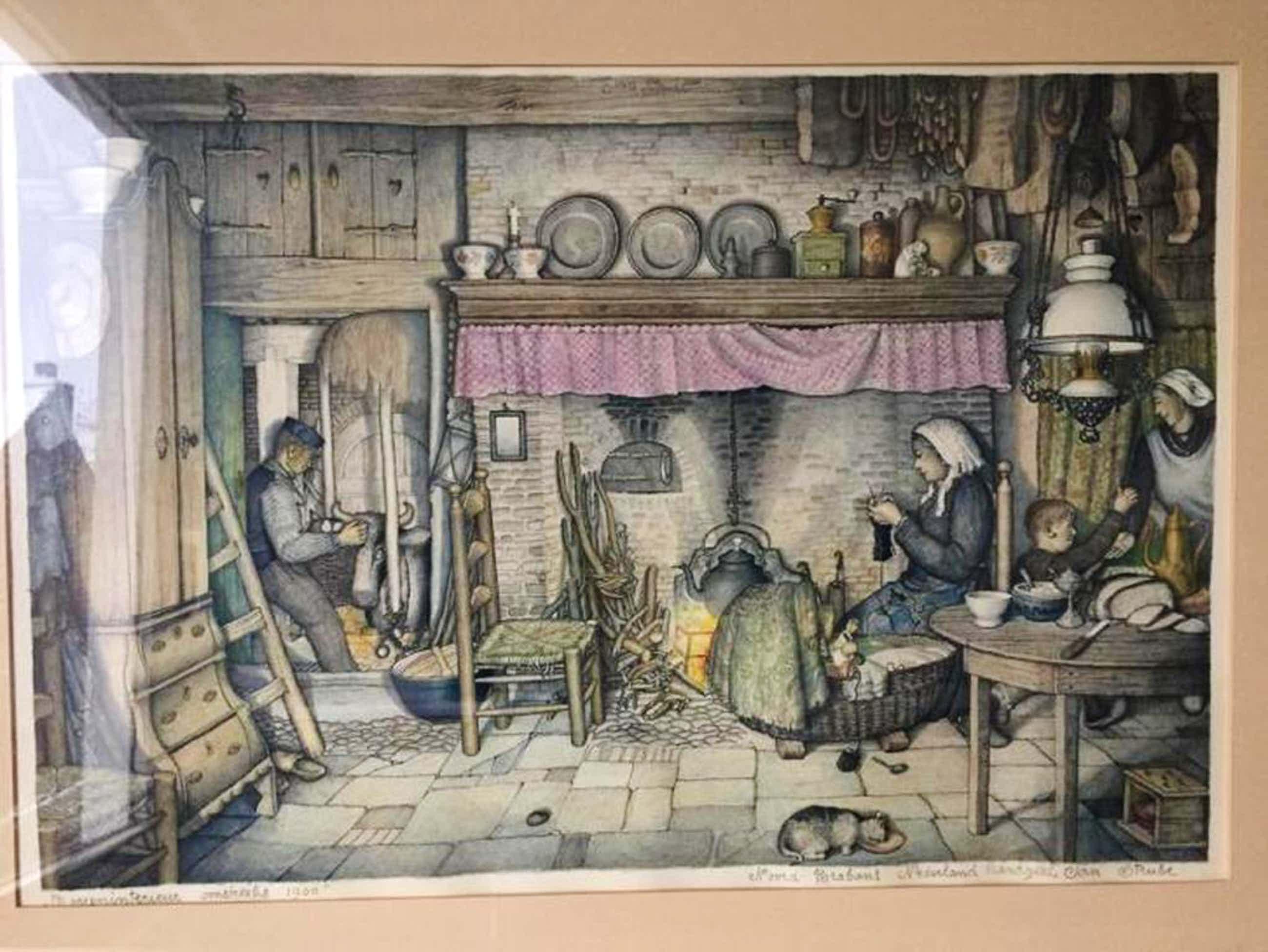 Jan Strube: Kleuren Lithografie kopen? Bied vanaf 59!