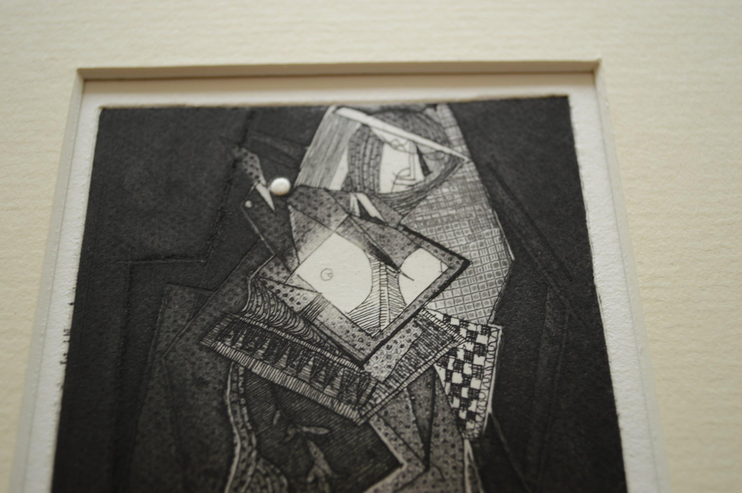Theo Beerendonk ( 1905-1979) ets, aquatint 9 x 14 ( 35 x 35 )  kopen? Bied vanaf 45!