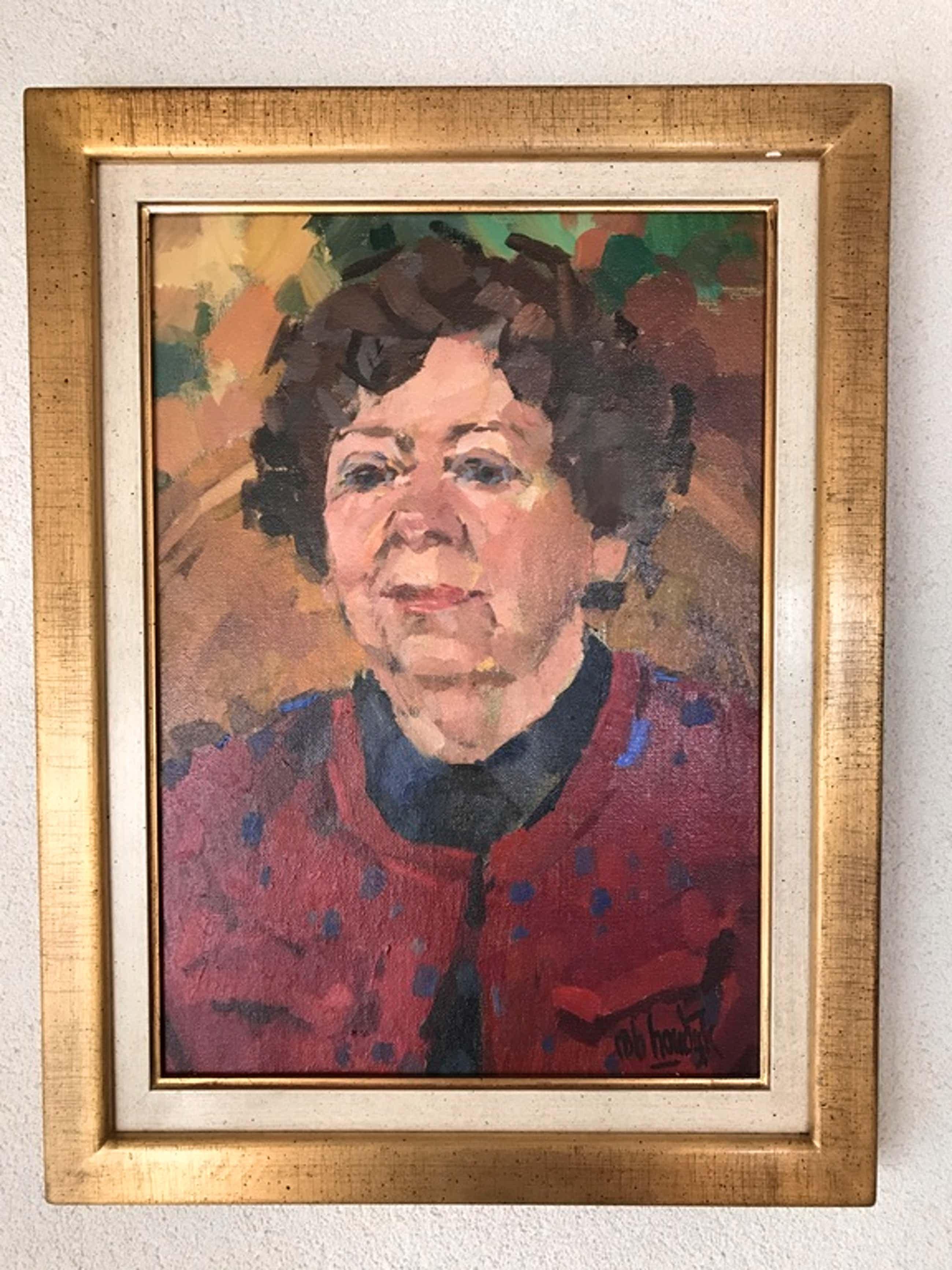 Rob Houdijk, portret van onbekende dame kopen? Bied vanaf 130!