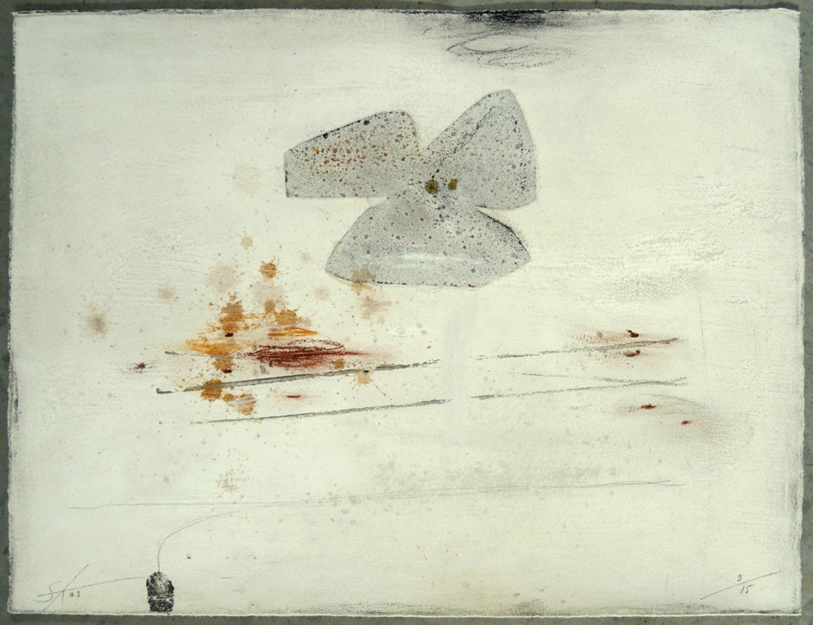 Sjaak Korsten, Monotype, ''Fading Flowers I'' kopen? Bied vanaf 10!