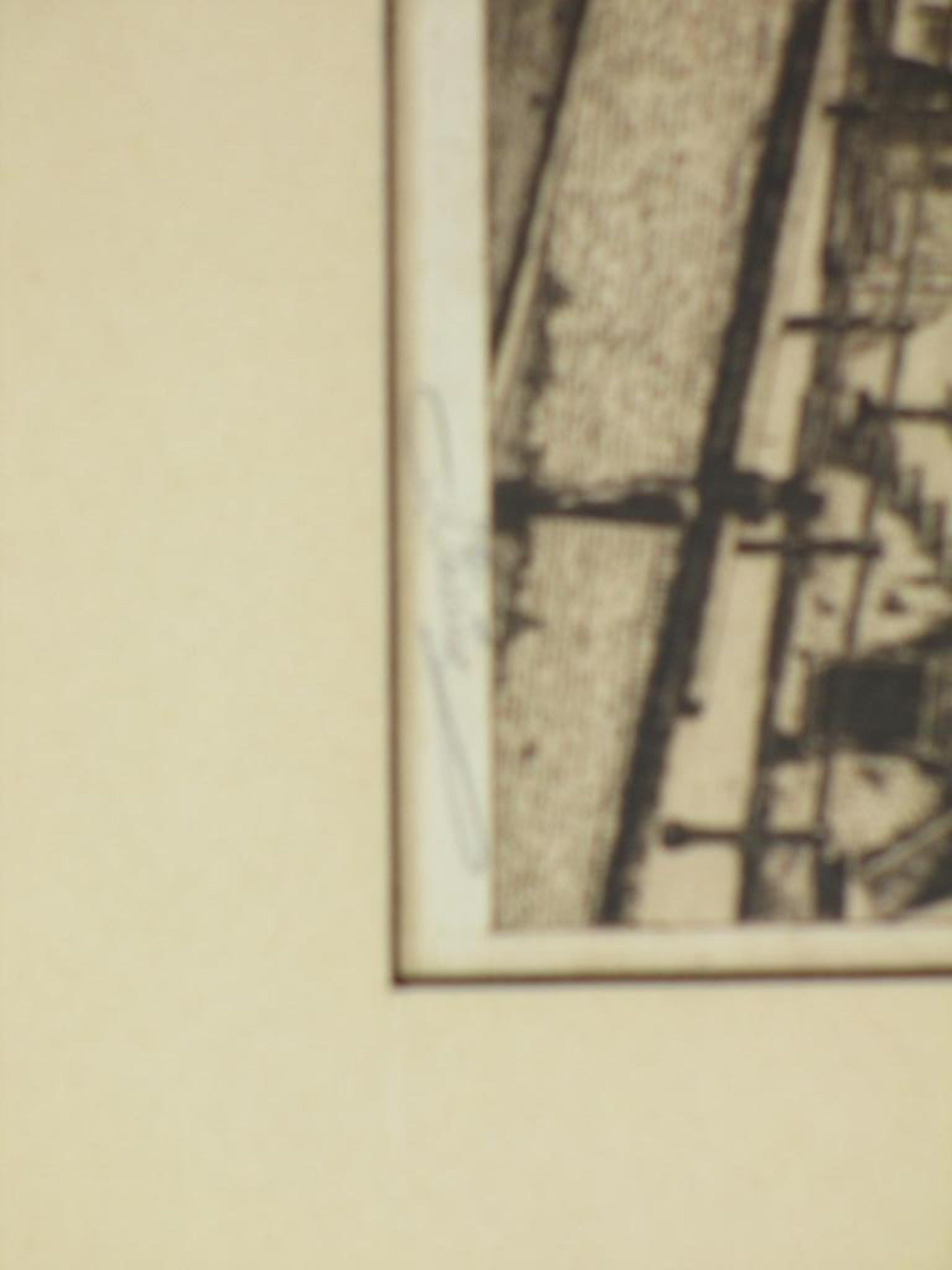 Johannes Pietersen, Staalbrug Amsterdam, Ets kopen? Bied vanaf 40!