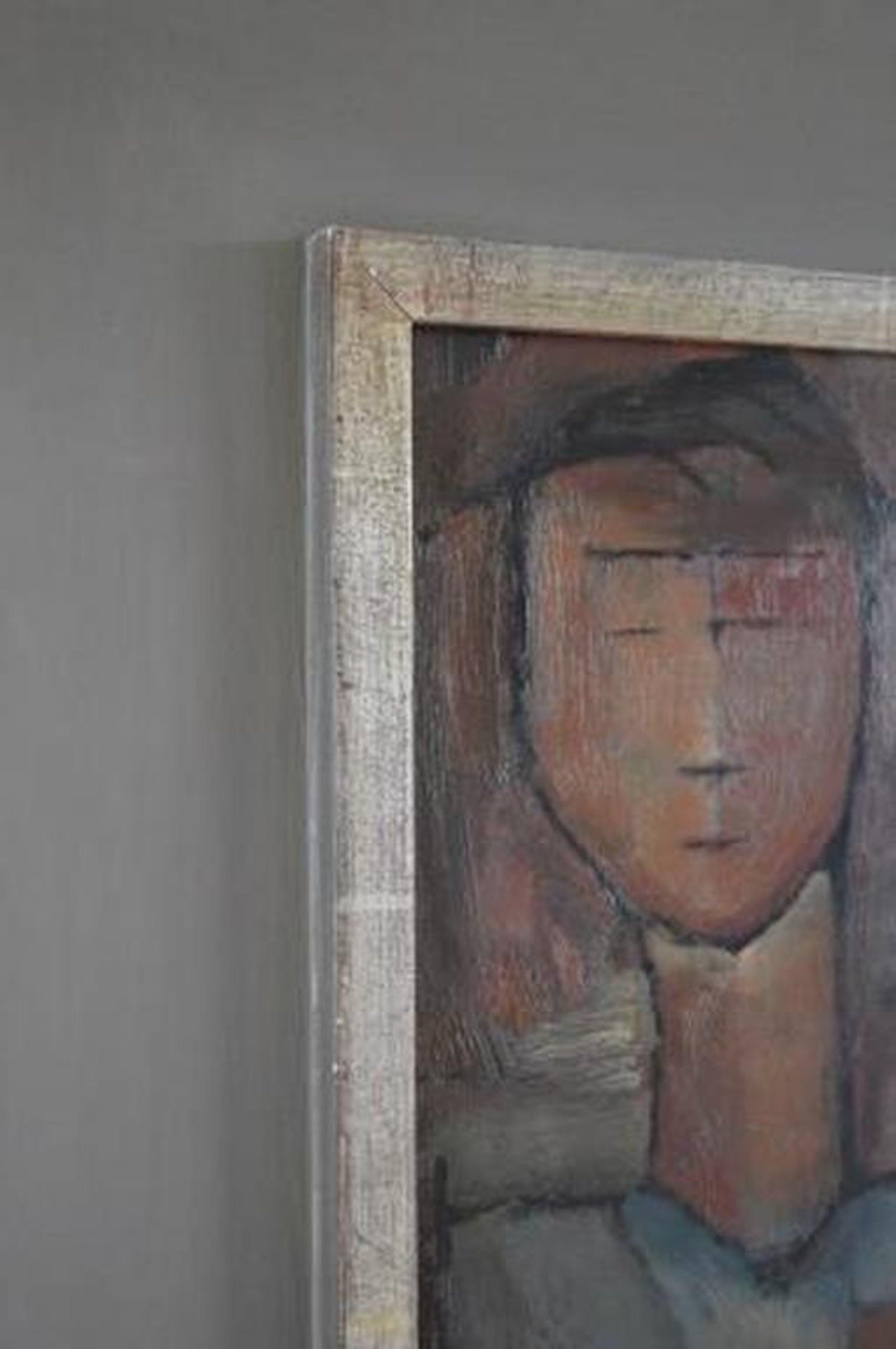 Signatuur HK, abstract uit 1925  - olie/karton - board  32x50 kopen? Bied vanaf 350!