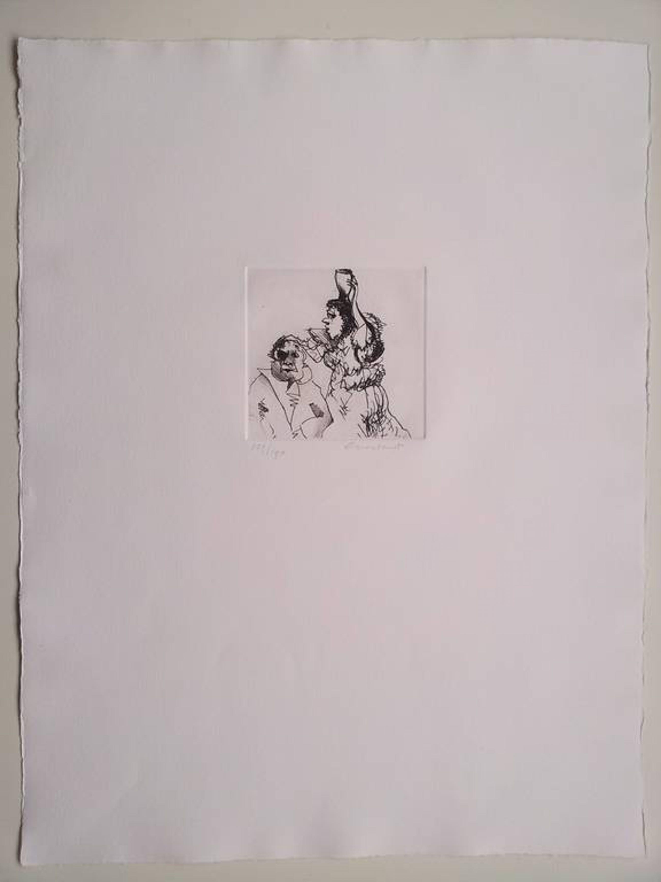 Constant: ets/aquatint, zonder titel, handgesigneerd, uitgave Prent 190, 1980 kopen? Bied vanaf 425!