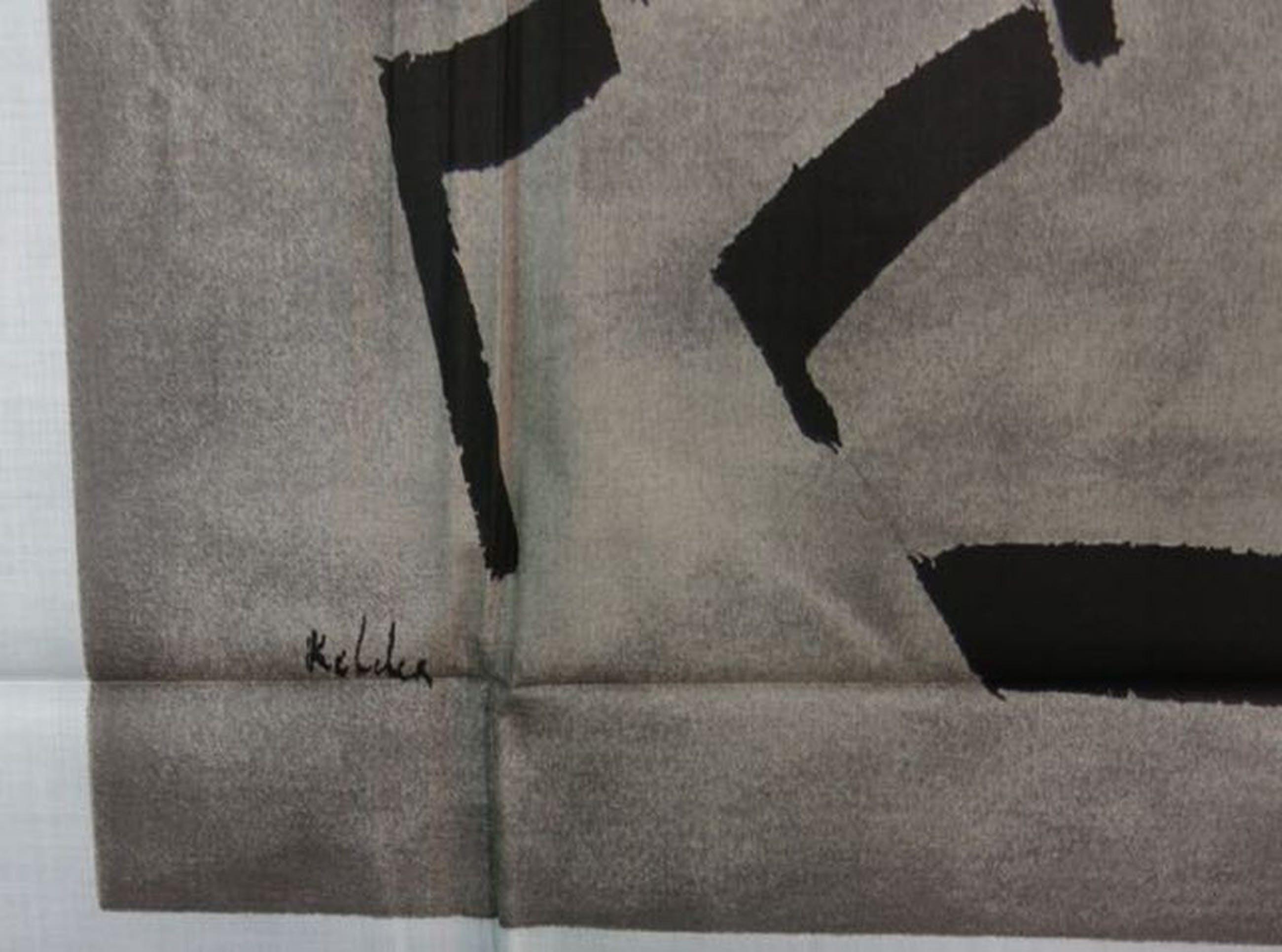 Toon Kelder: Zeefdruk op katoenzijde, Composition kopen? Bied vanaf 1!