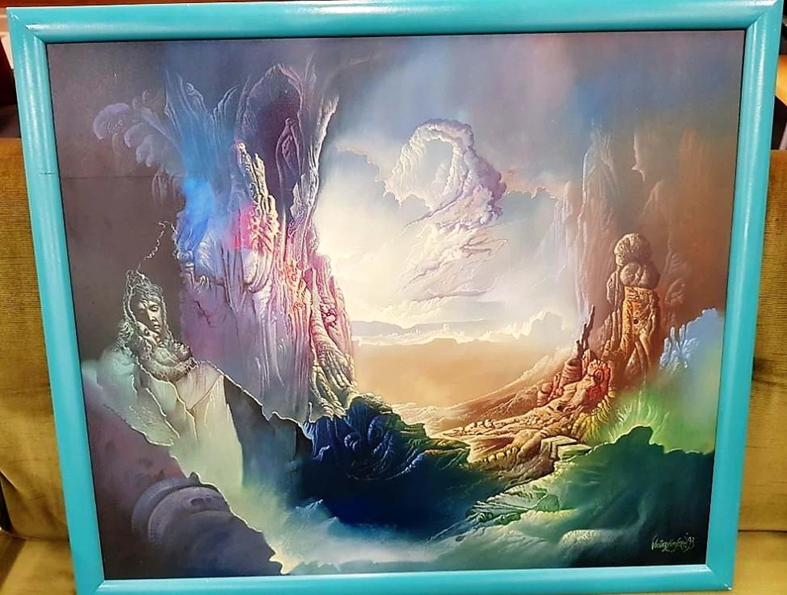Prachtig werk van de schilder Victor Linford kopen? Bied vanaf 400!