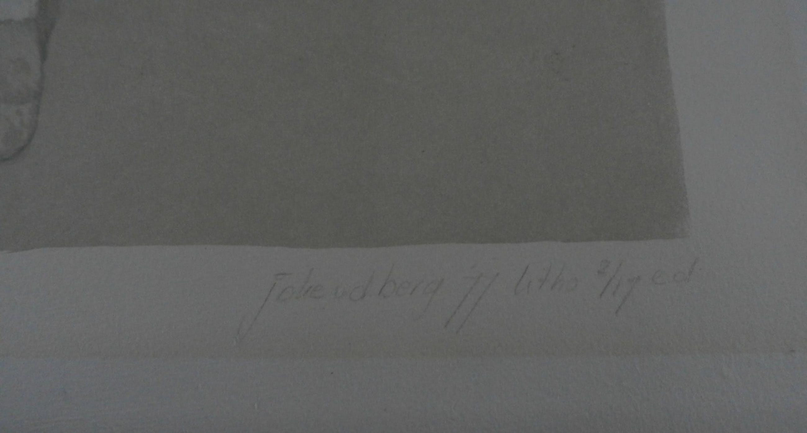 Joke v.d Berg - litho - 1977  kopen? Bied vanaf 20!