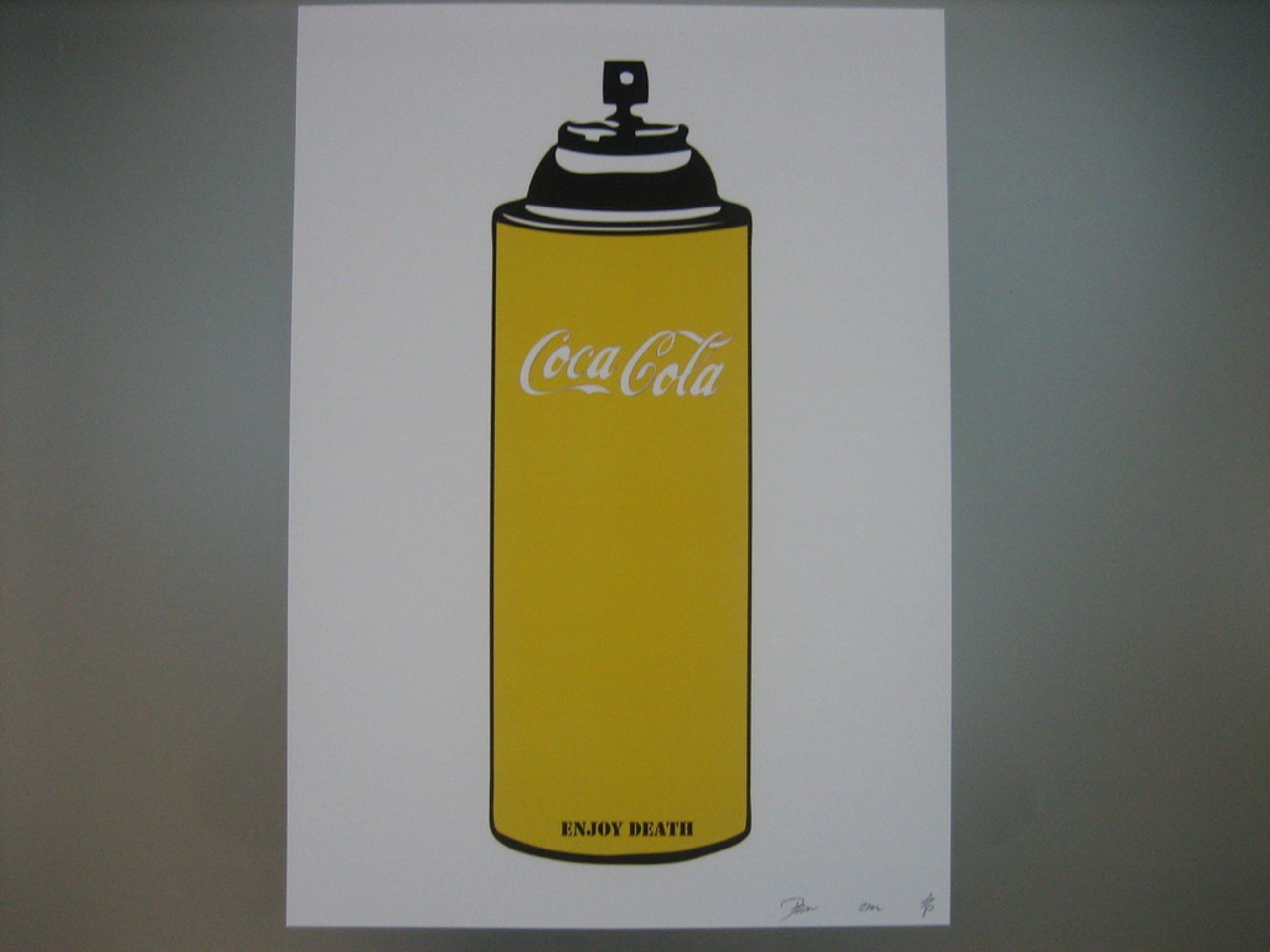 "DEATH NYC Limited Edition Art print Graffiti Signed ""Enjoy Y Spray"" Rare 2013 kopen? Bied vanaf 1!"