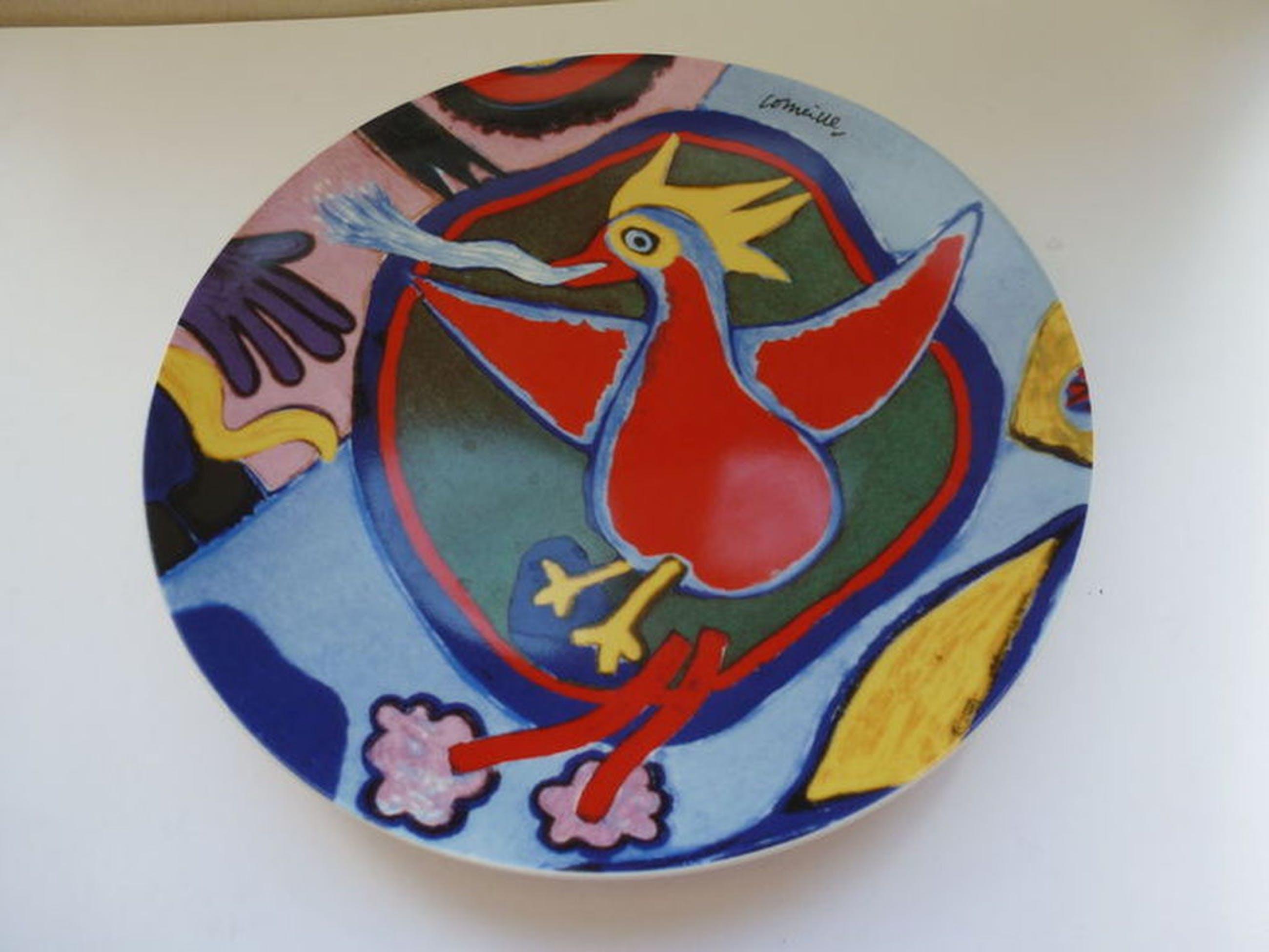 Corneille Bord met Rode Vogel/Vuurvogel kopen? Bied vanaf 55!