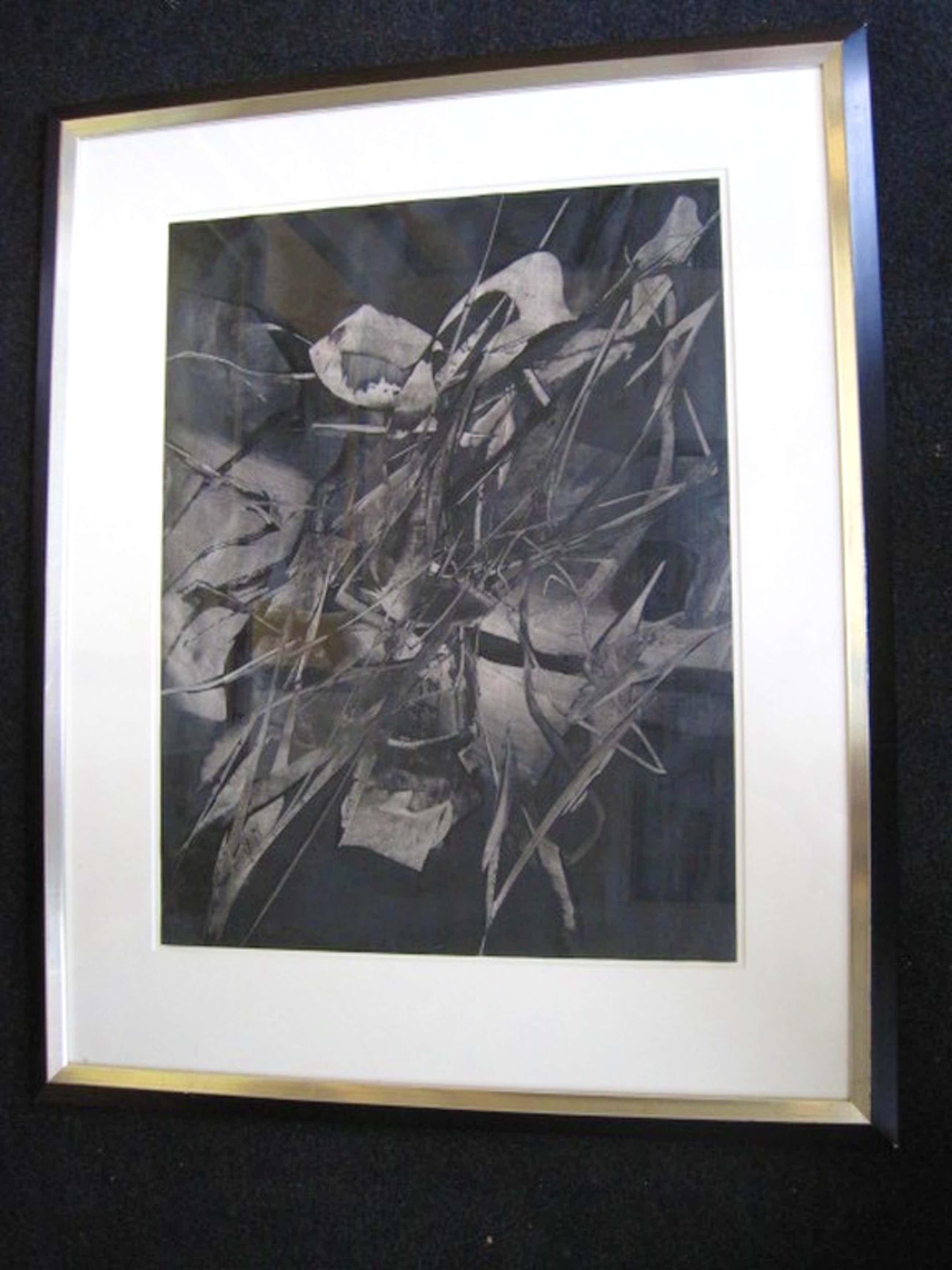 "Imposante Aquarel van ""vergeten"" COBRA kunstenaar Jaap Mooy (1915-1987)  kopen? Bied vanaf 270!"