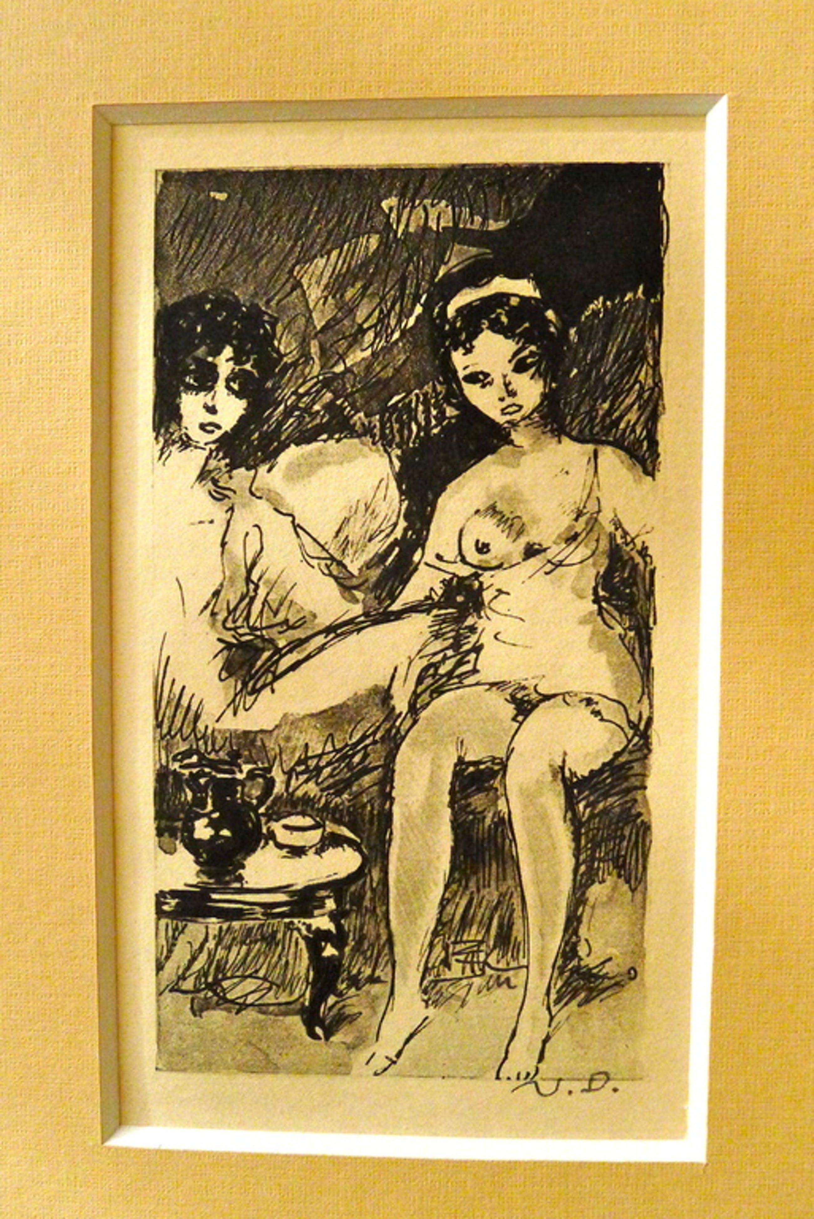 Kees van Dongen,originele kopergravure uit  kopen? Bied vanaf 180!