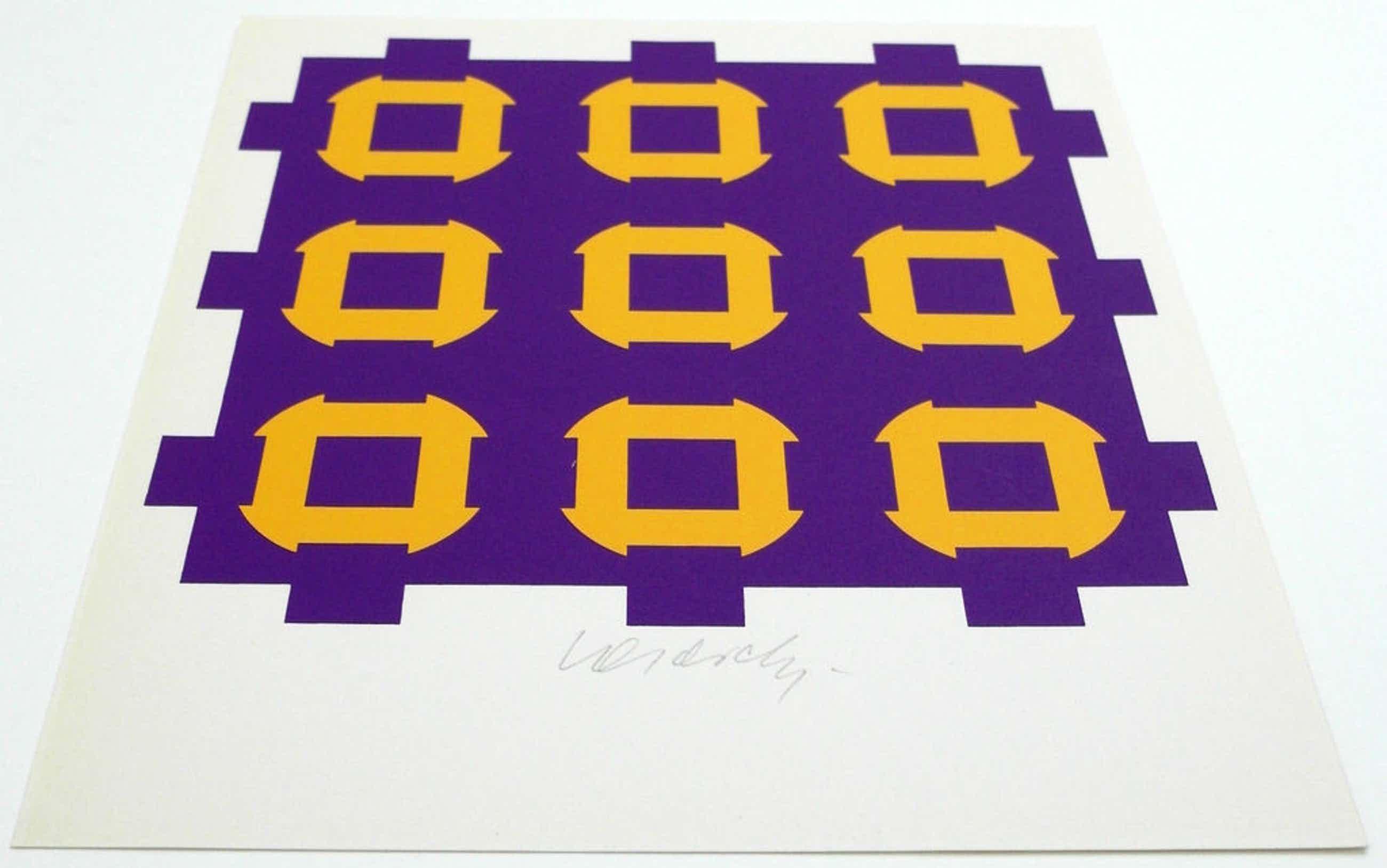 Victor Vasarely - zeefdruk - 1967 - gesigneerd kopen? Bied vanaf 150!