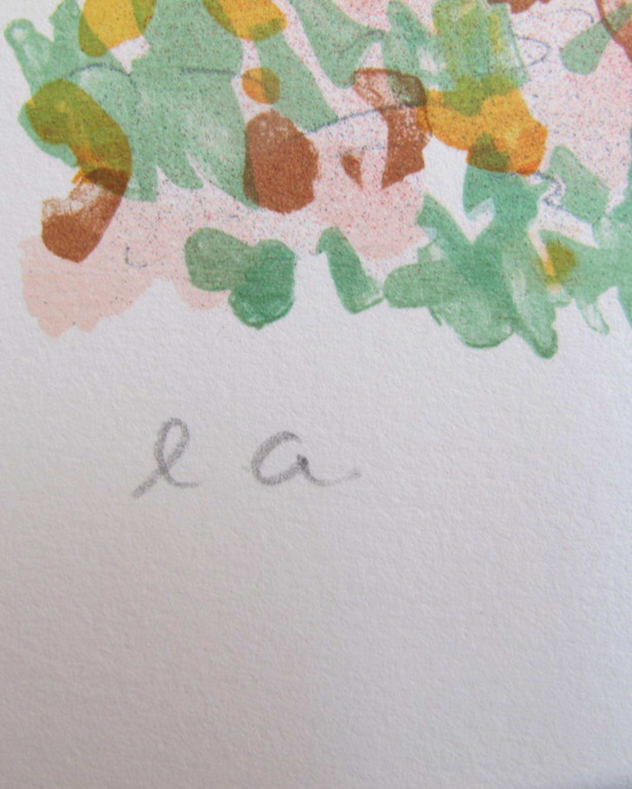 Zladku Oliver 'Paysage' - kleurenlithografie, handgesigneerd kopen? Bied vanaf 25!