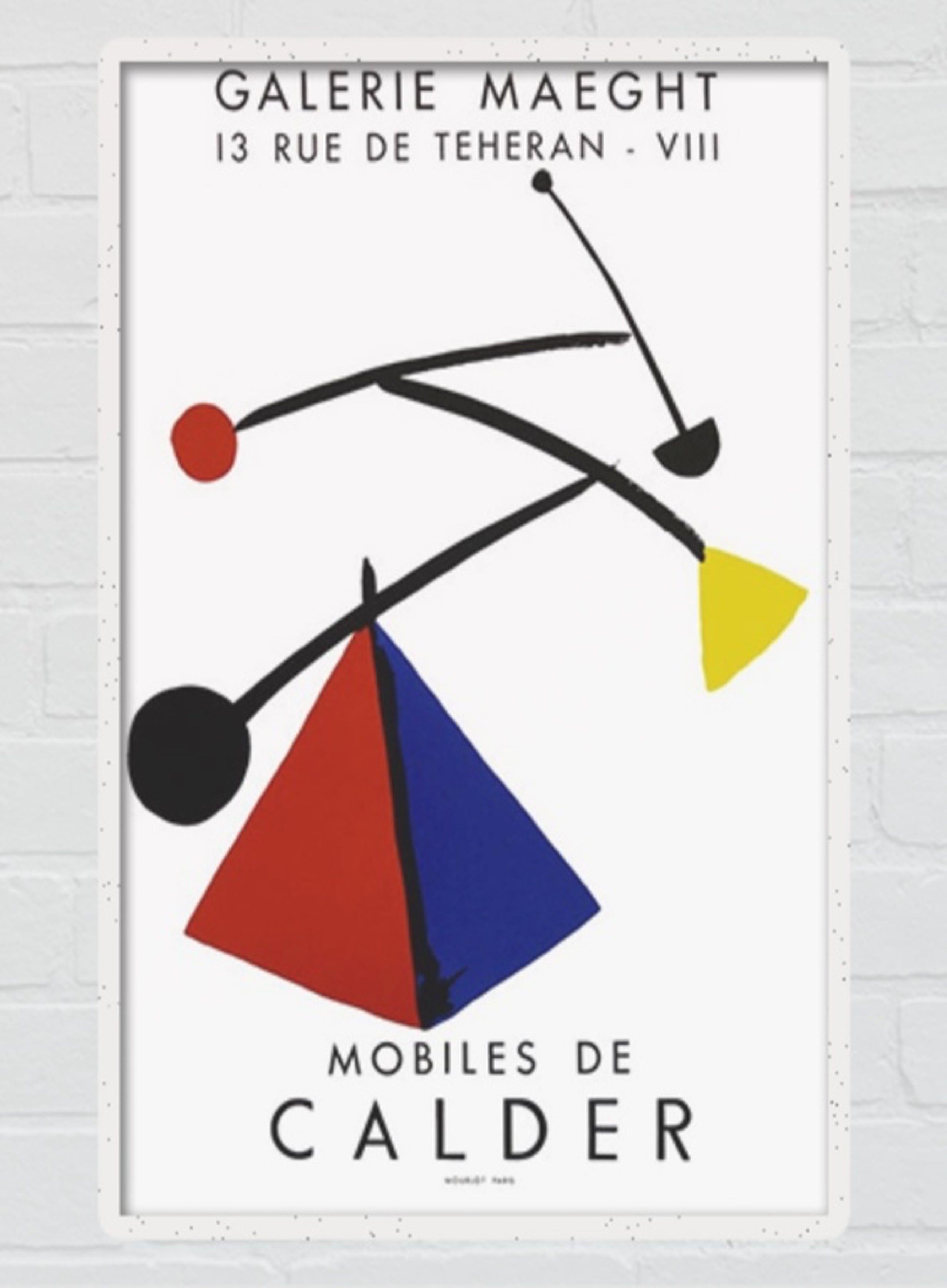 Alexander Calder - Affiche - lithografie - 1954- MOBILES kopen? Bied vanaf 1!