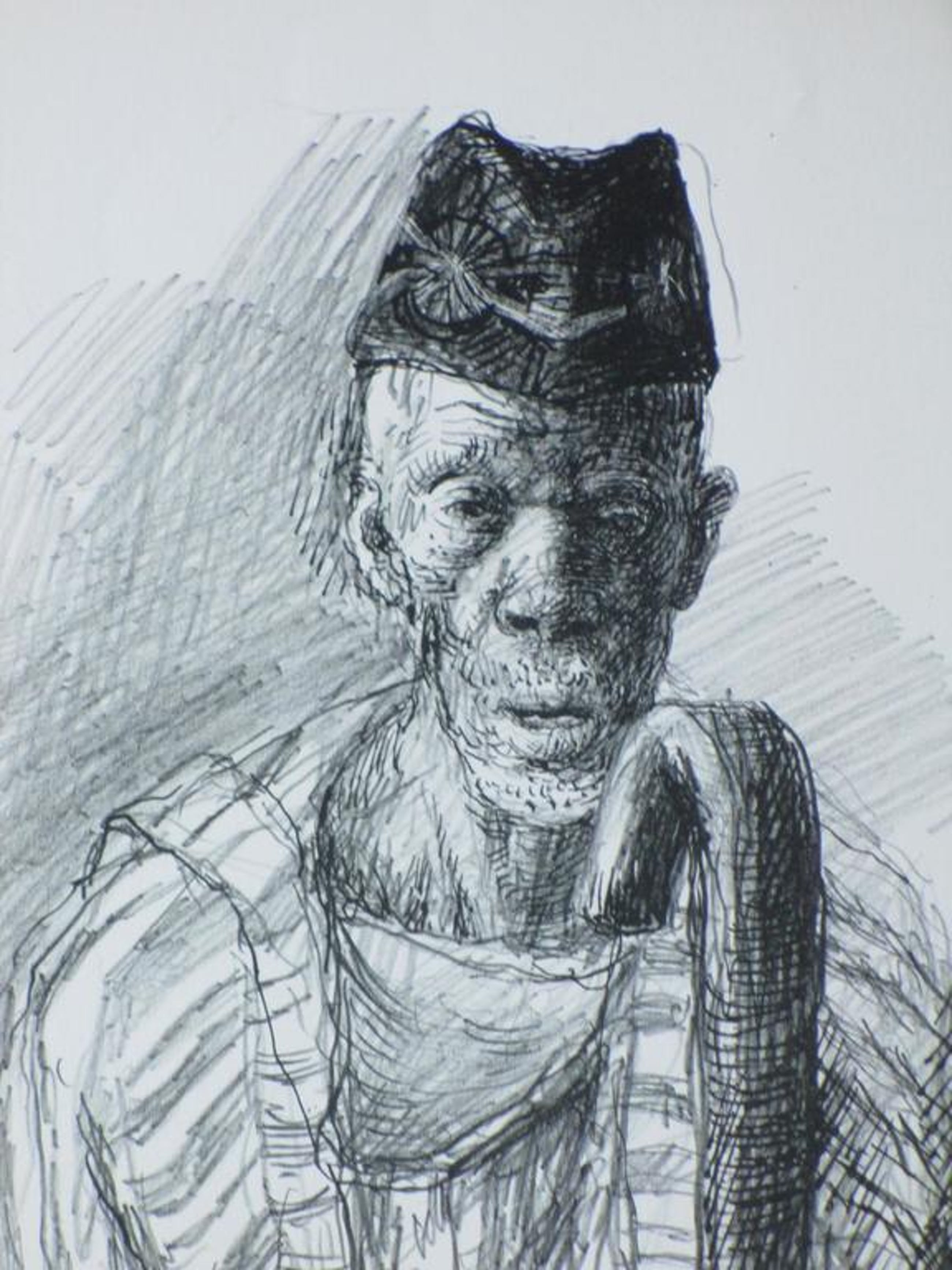 Aat Veldhoen, Afrikaanse man, Rotaprint kopen? Bied vanaf 35!