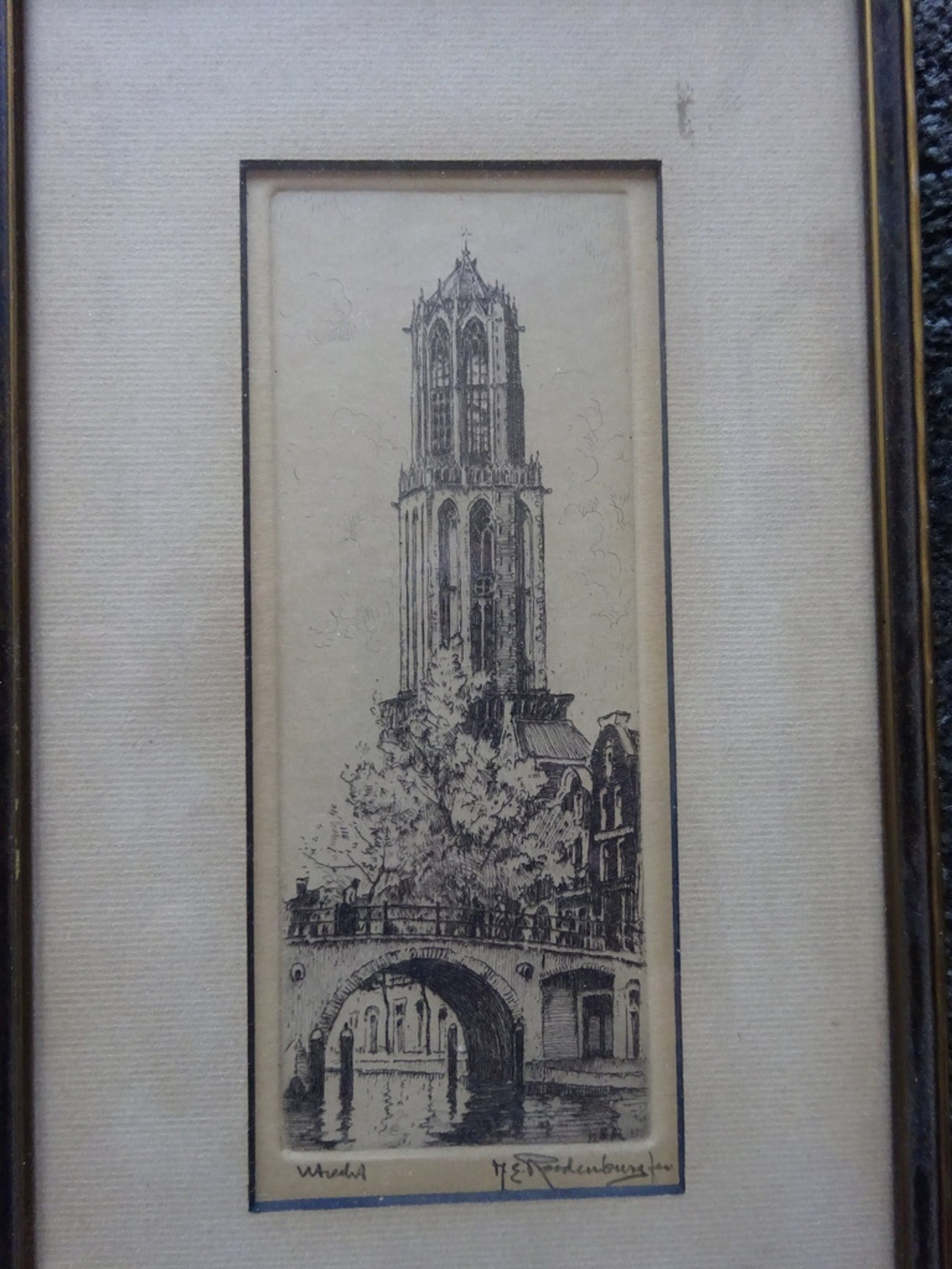 H.E. Roodenburg -   Utrecht  -  Domtoren. kopen? Bied vanaf 1!