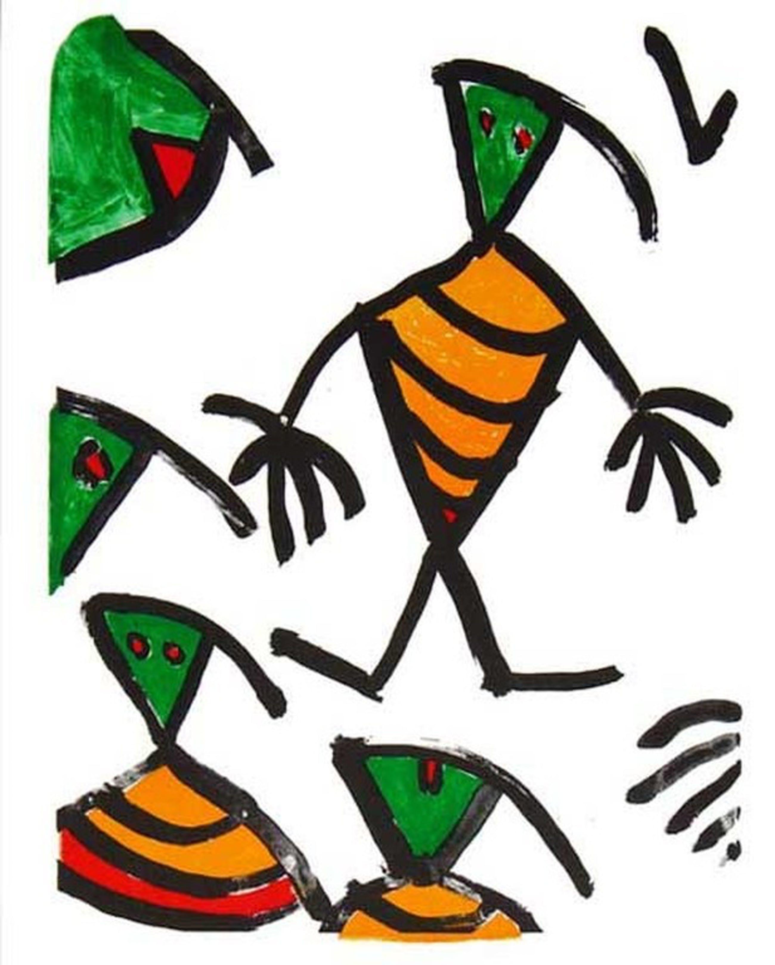 Eugene Ionesco, Affiche Theatervoorstelling, 1982. Voyage chez les morts. kopen? Bied vanaf 15!