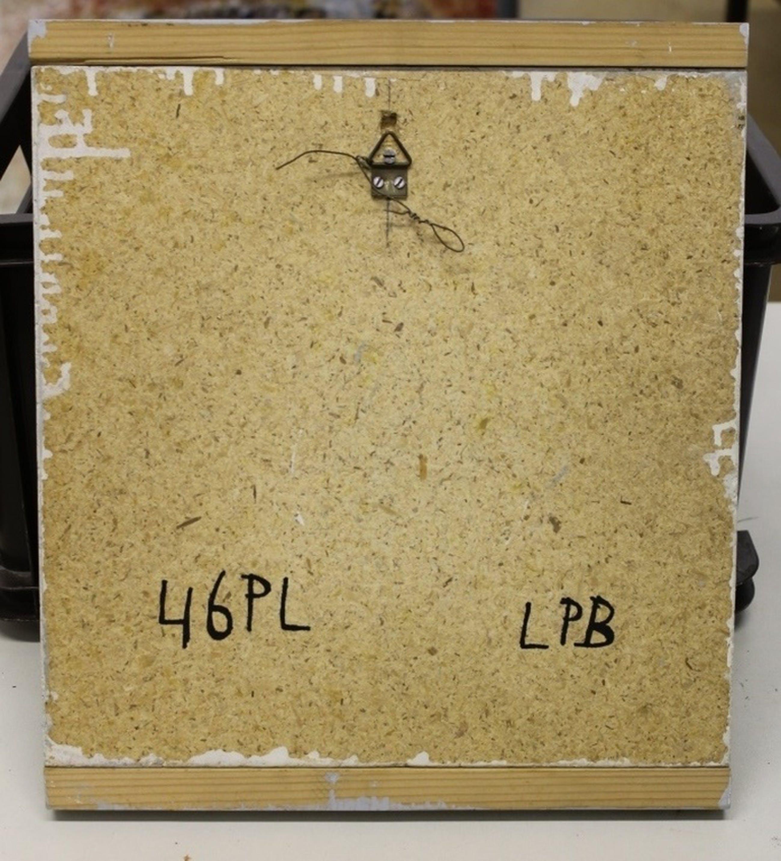L.P. Boone: Keramische tegel, genummerd 46PL kopen? Bied vanaf 20!