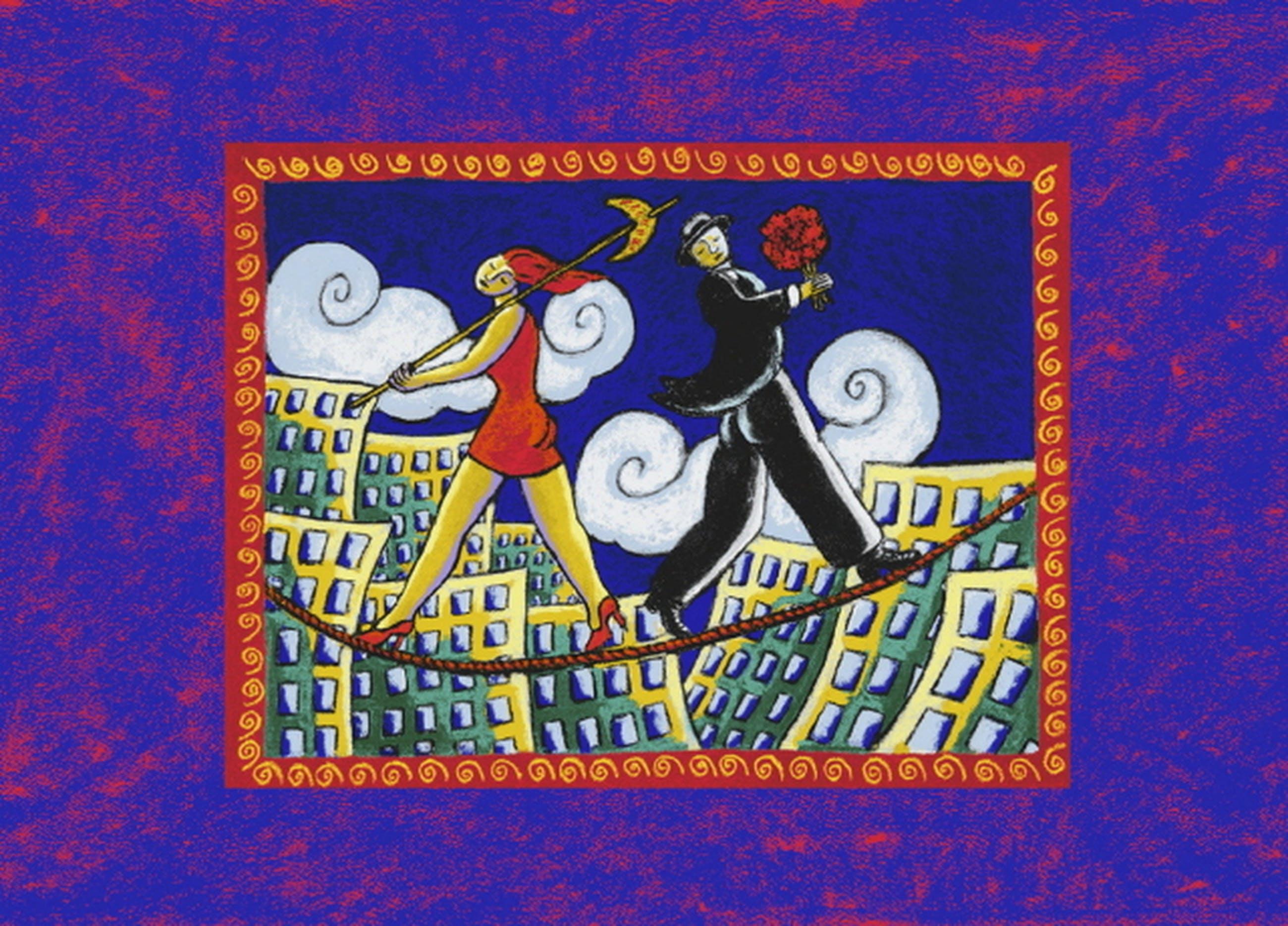 Jacques Tange, zeefdruk: Another Short Romance kopen? Bied vanaf 50!