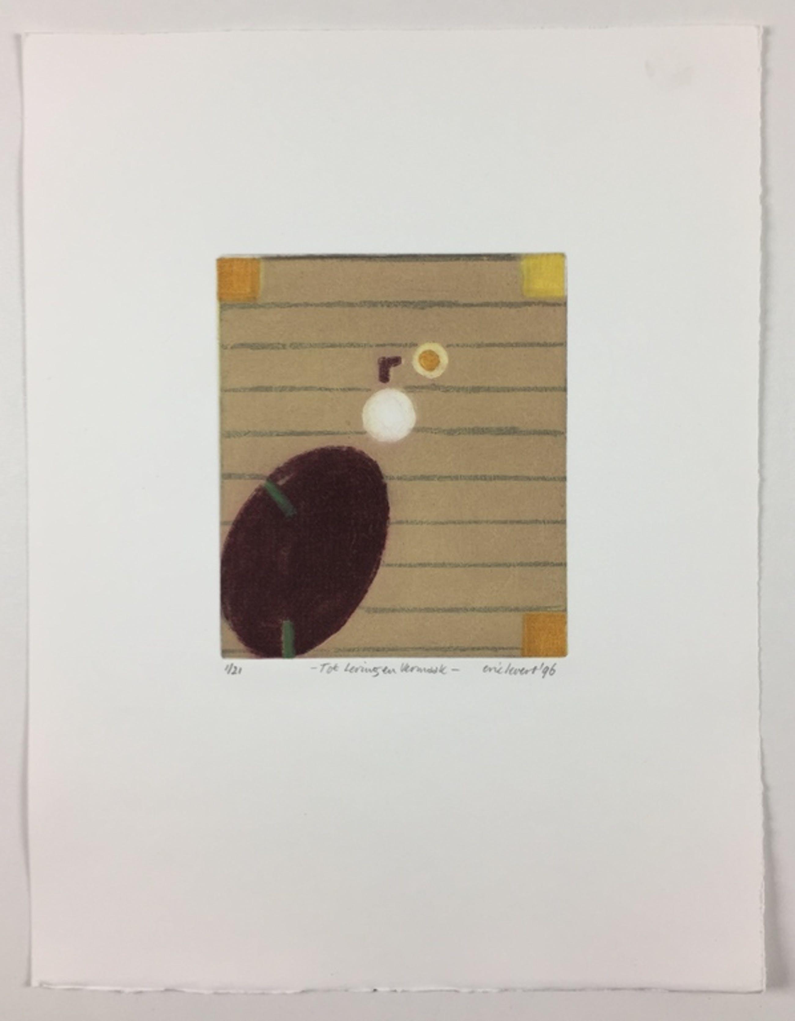 Eric Levert, kleurenets, 'Tot lering en vermaak', 1996 kopen? Bied vanaf 49!