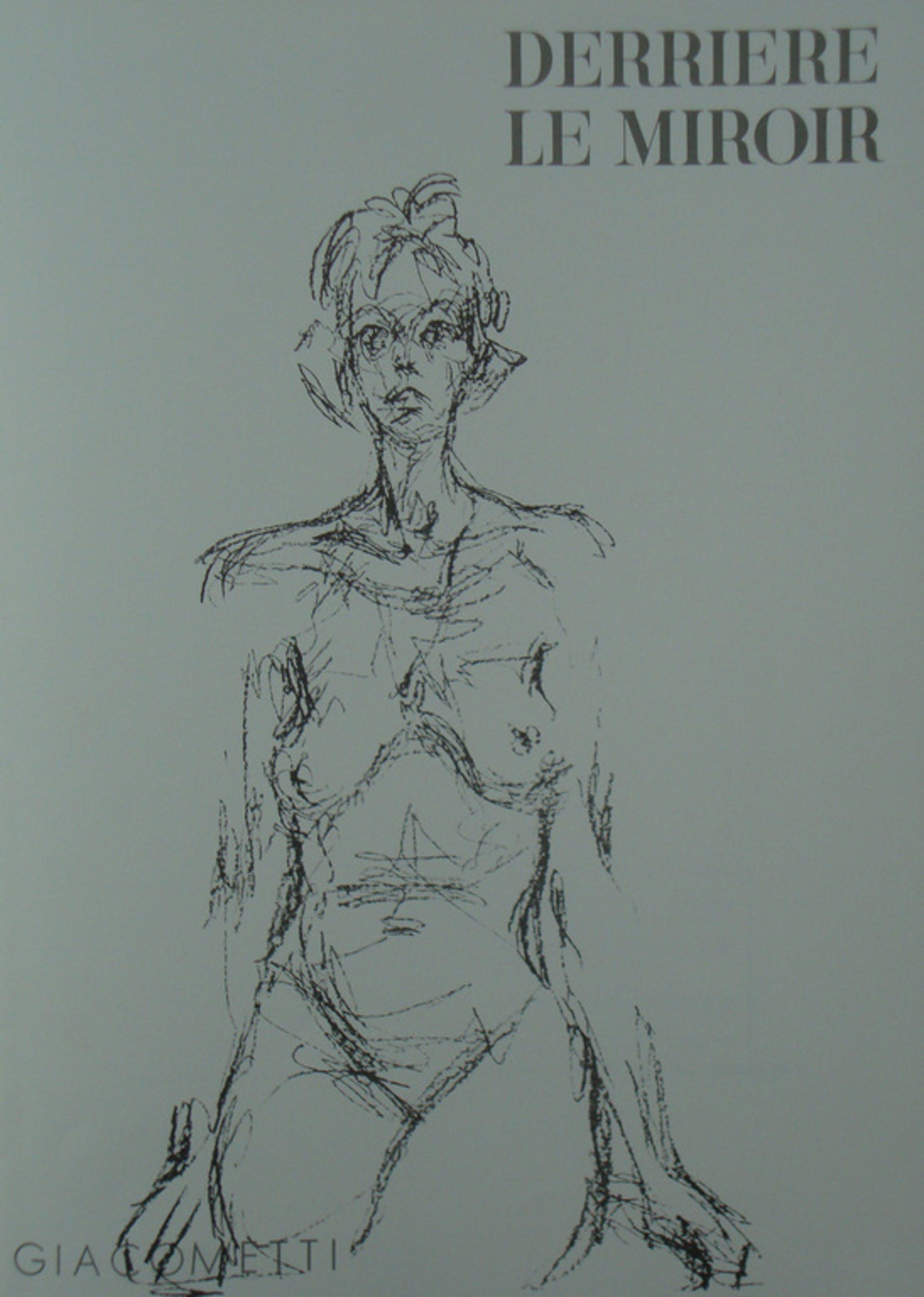 Giacometti, originele litho: cover van de DLM 127 kopen? Bied vanaf 1!
