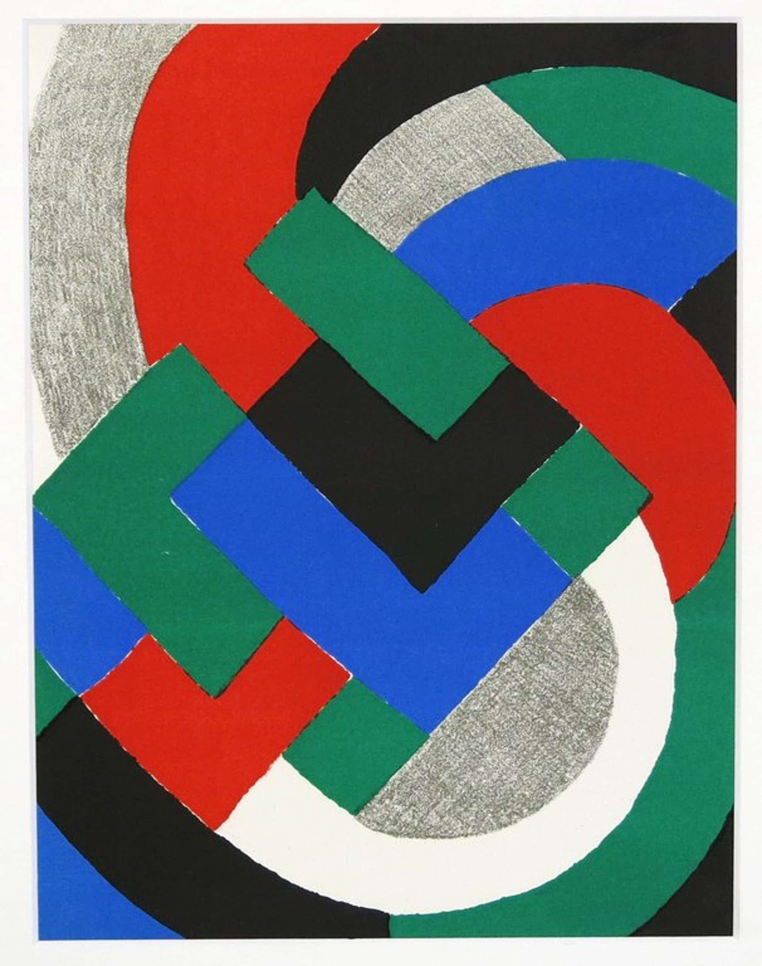 Sonia Delaunay: Litho in passe-partout, Simultanisme kopen? Bied vanaf 35!