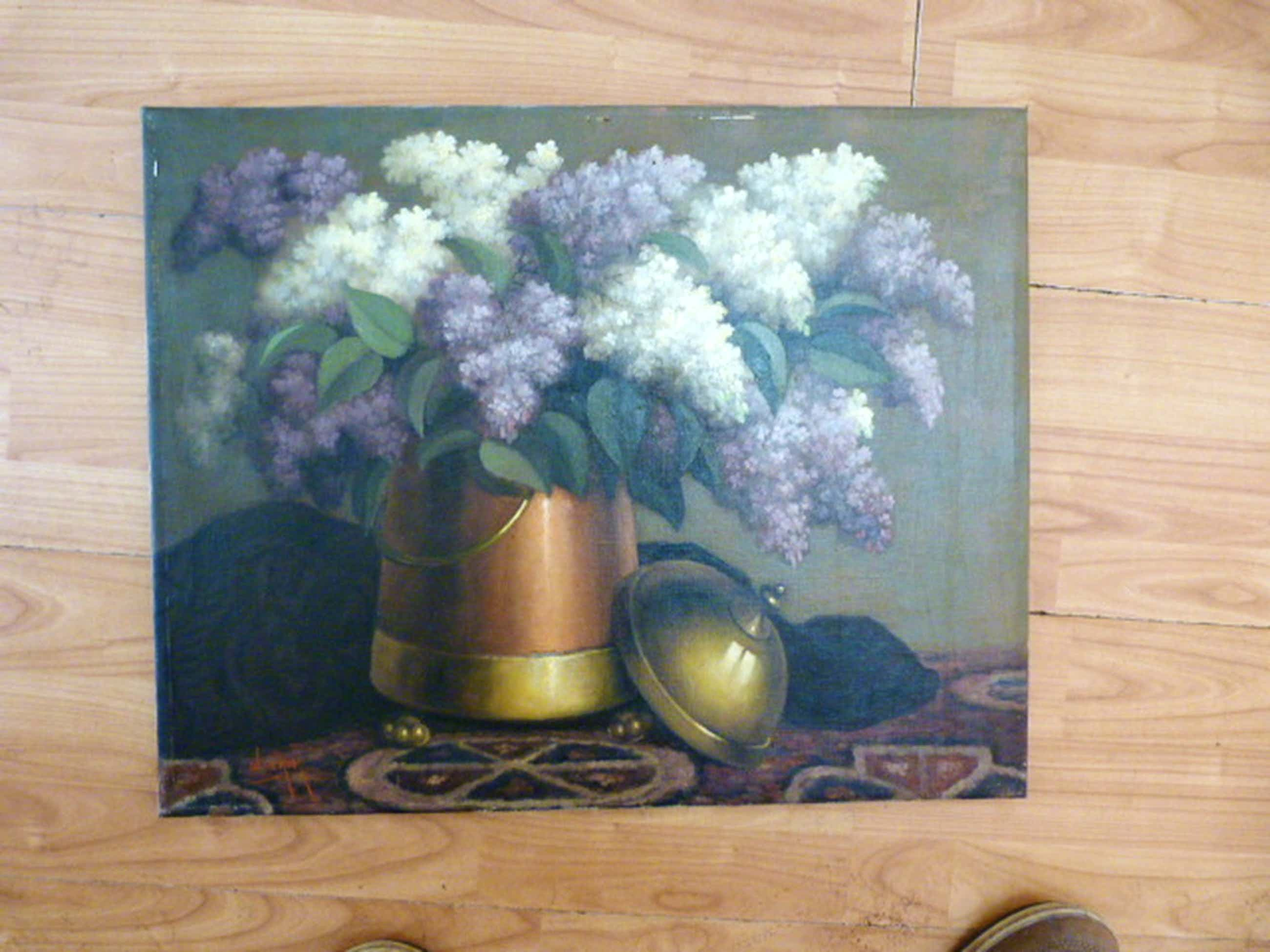 Willem de Kok ( 1883 - 1959 ) - schilderij - stilleven. kopen? Bied vanaf 55!