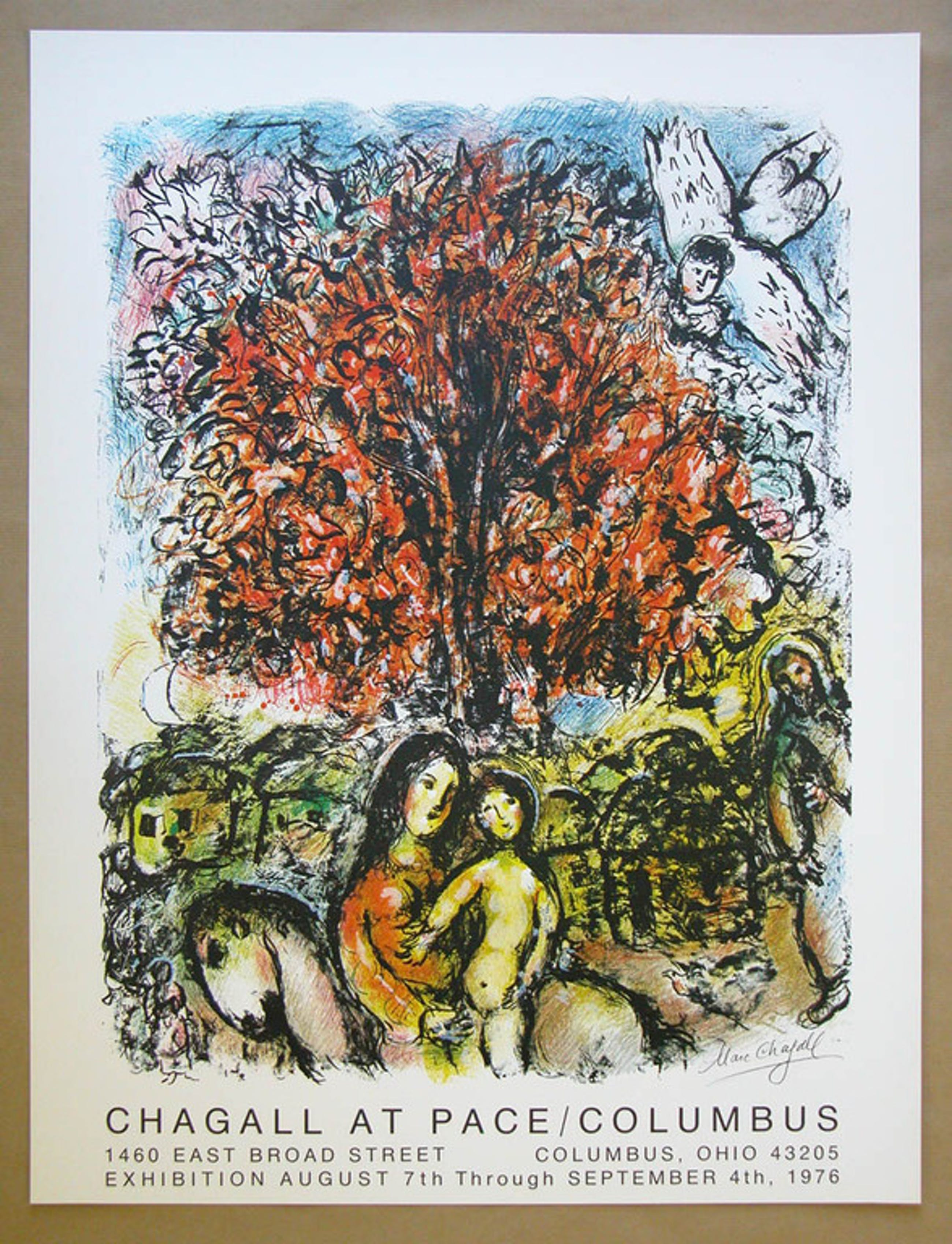 Marc Chagall, kleurenlitho, 'Sainte Famille' kopen? Bied vanaf 35!