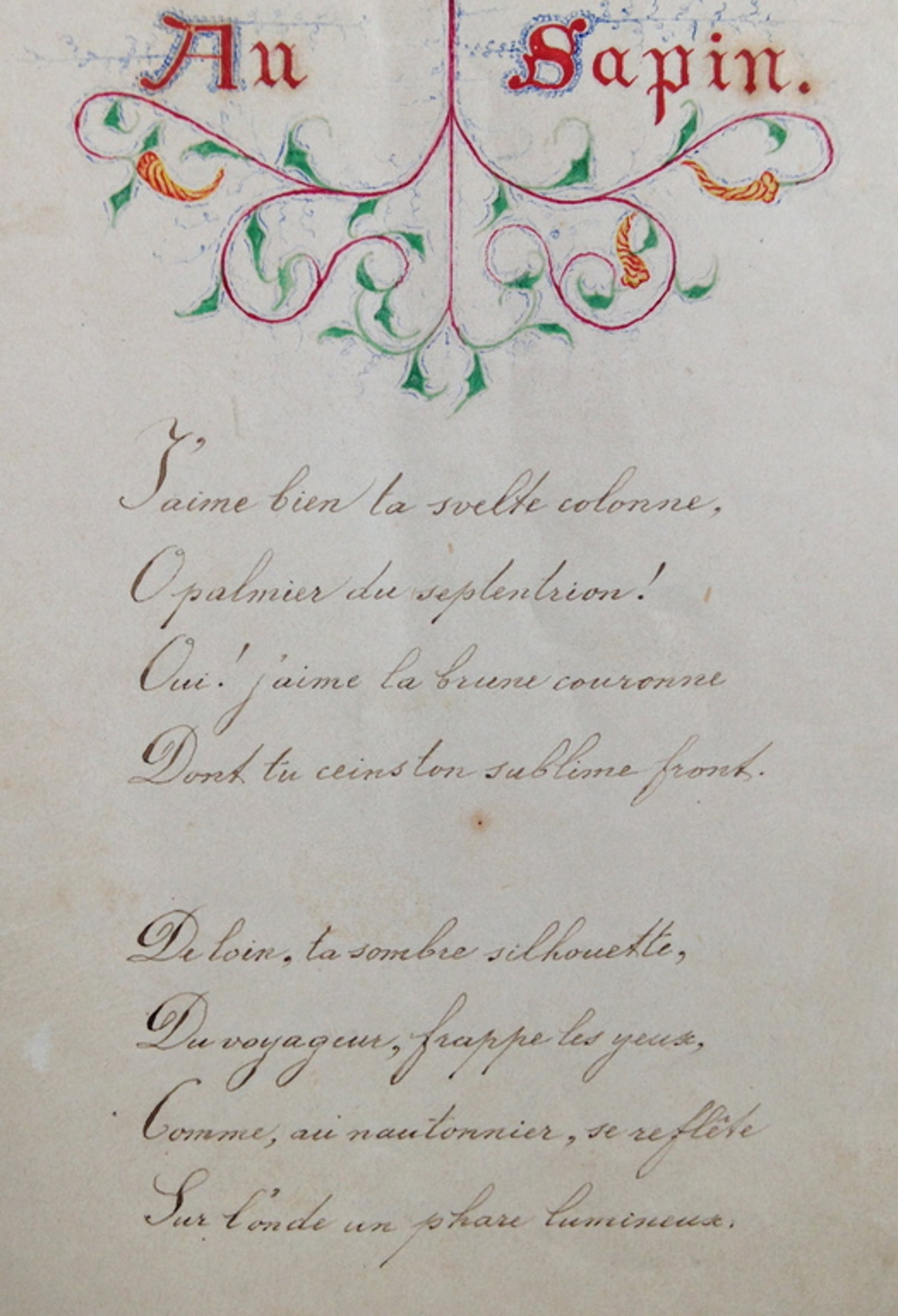 Handgeschreven manuscript uit 1865,  kopen? Bied vanaf 165!