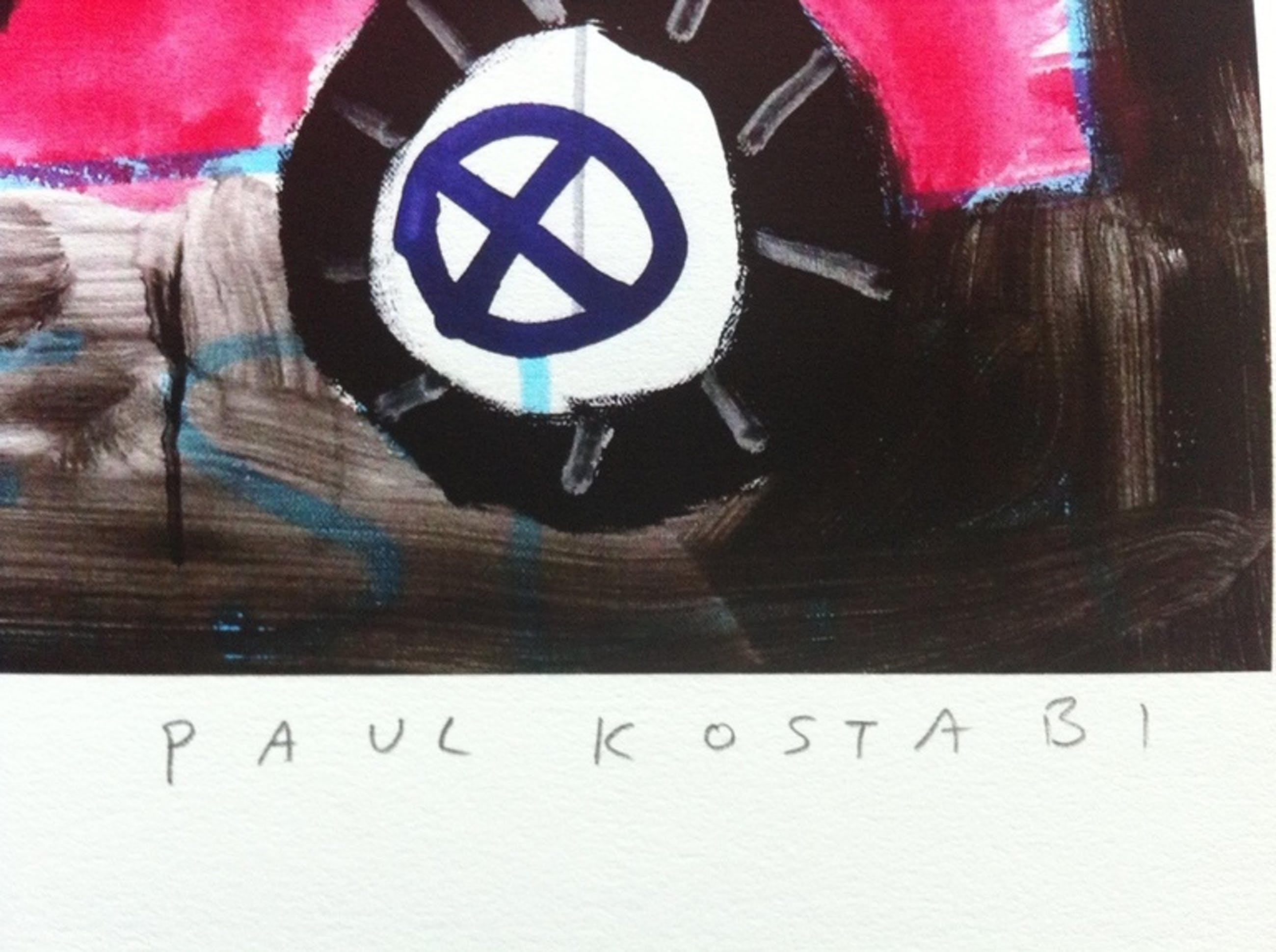 Paul Kostabi - Tesla  (2014) kopen? Bied vanaf 35!