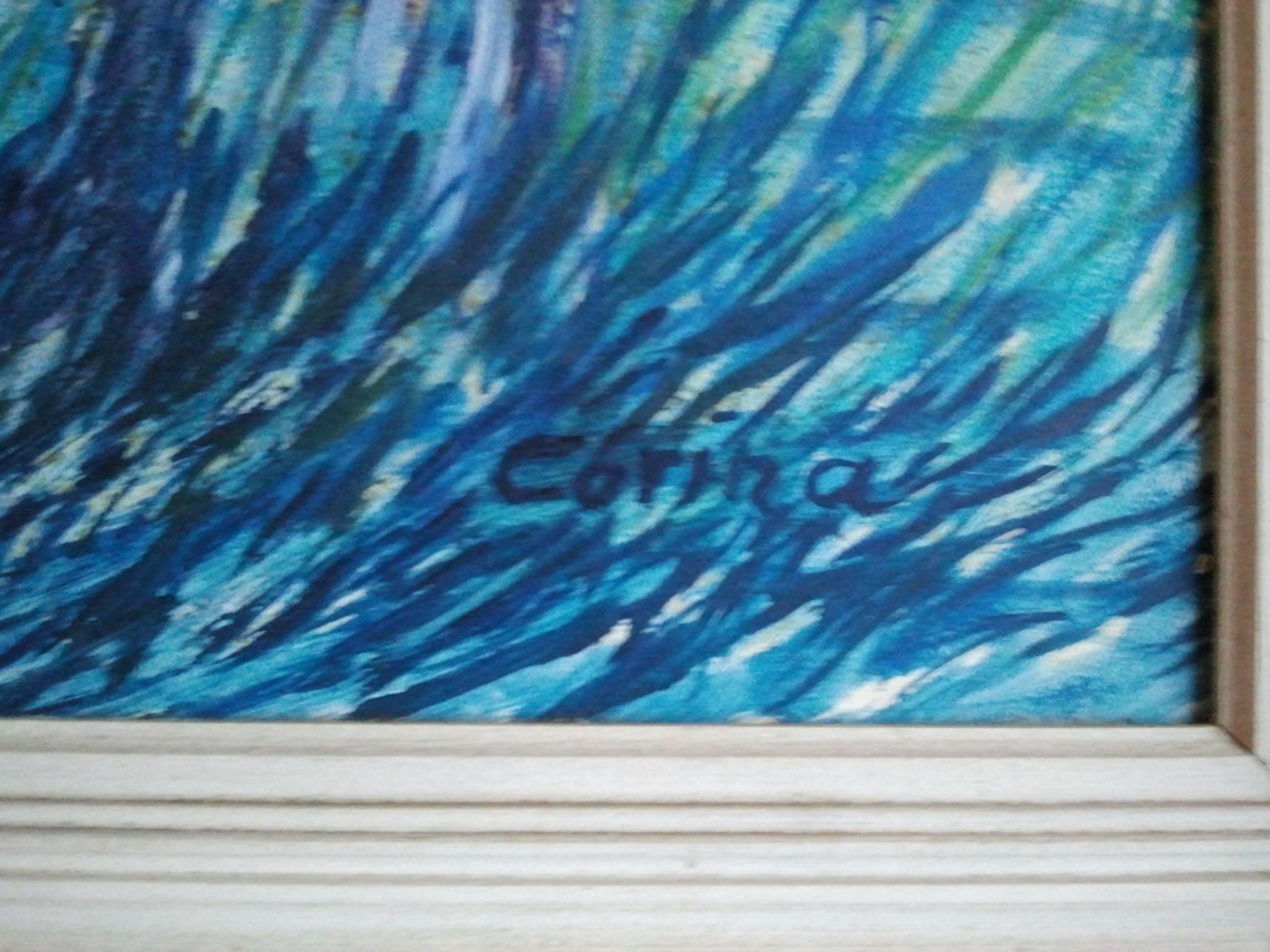 Corina Smit (1918-2003), blauwe paarden kopen? Bied vanaf 70!
