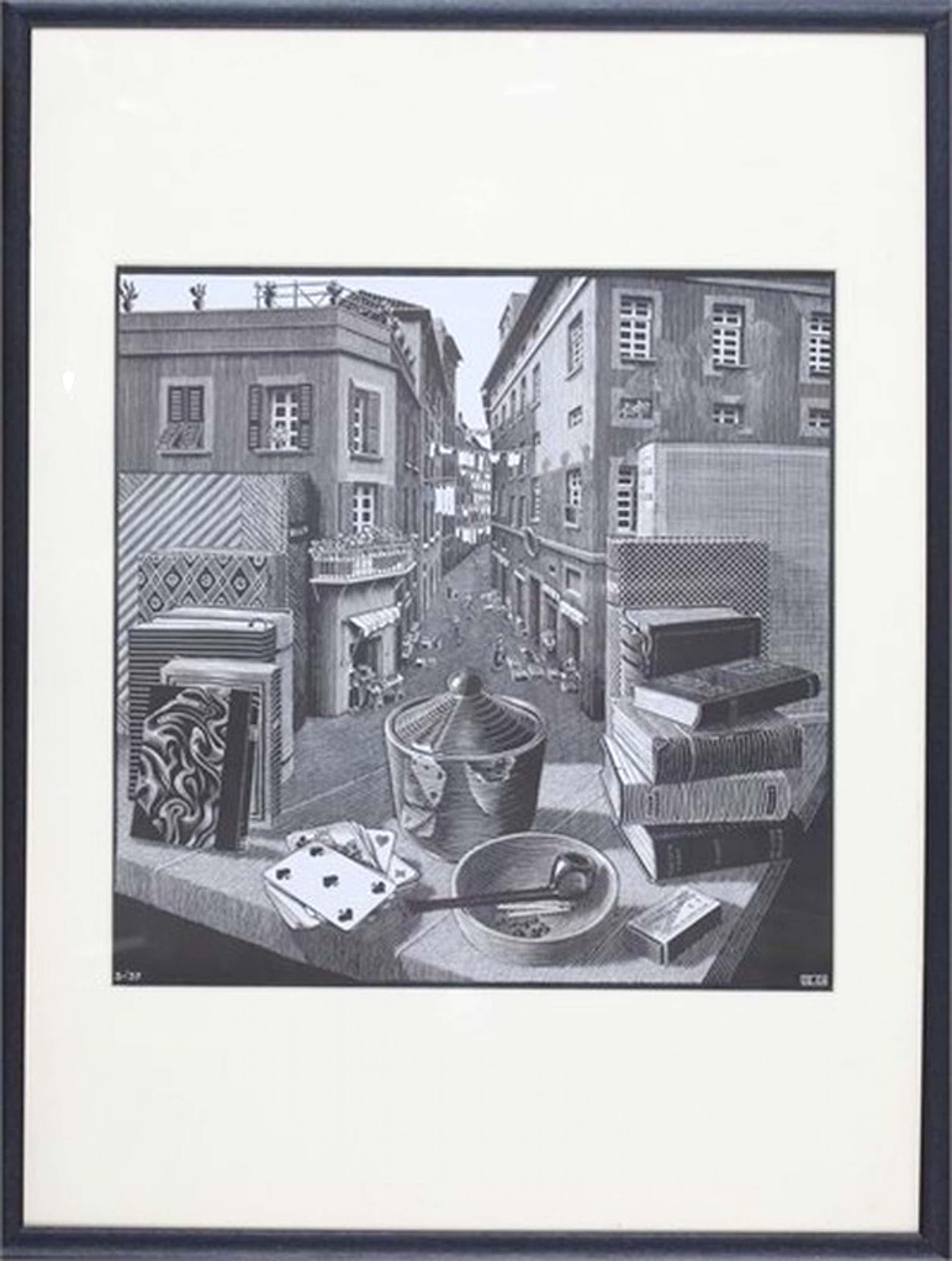 Maurits Cornelis ESCHER (1898-1972) kopen? Bied vanaf 125!