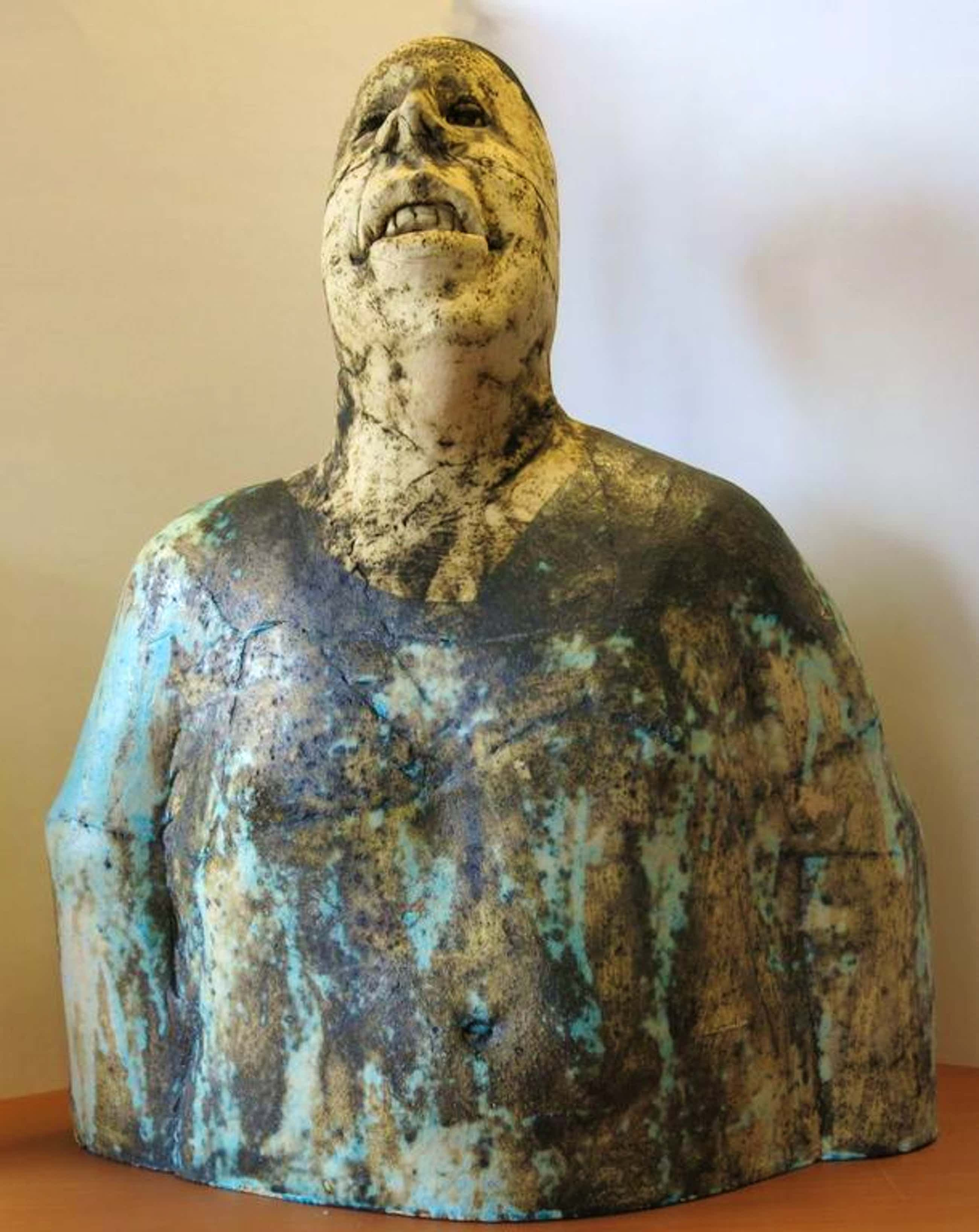 Sjer Jacobs: Keramiek, Man (Groot beeld!) kopen? Bied vanaf 670!